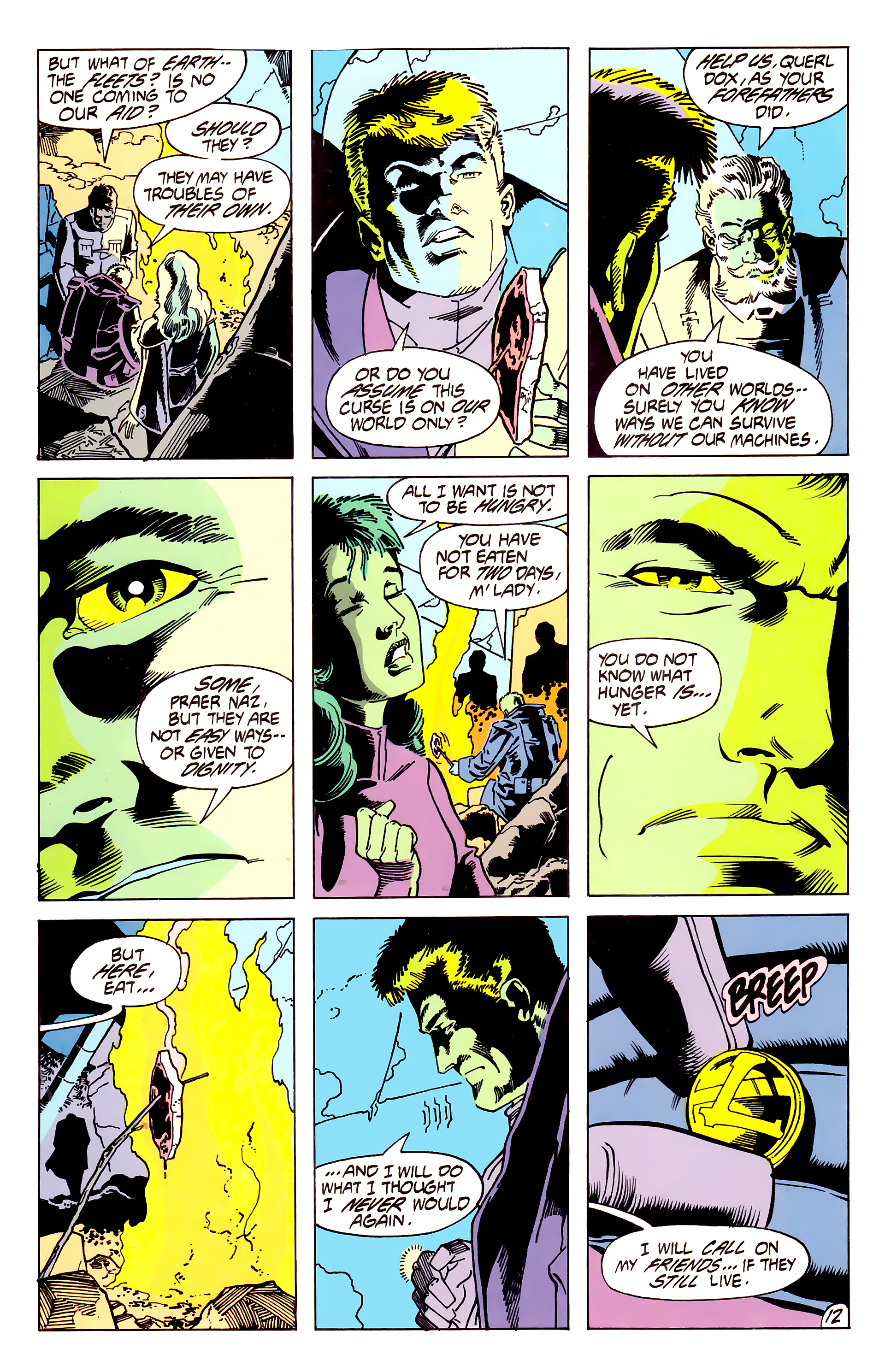 Legion of Super-Heroes (1984) 62 Page 12