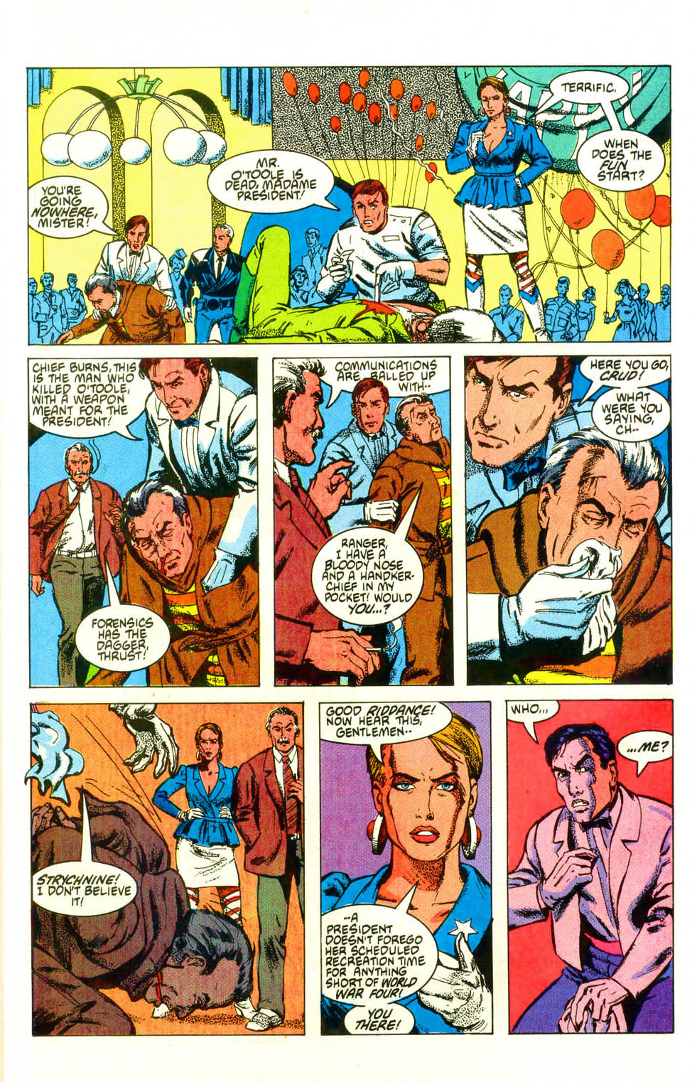 Read online American Flagg! comic -  Issue #19 - 29