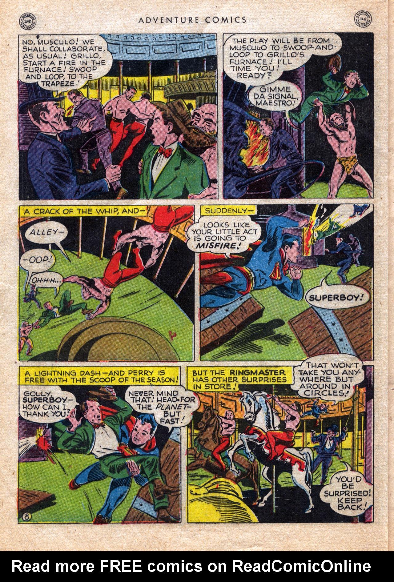 Read online Adventure Comics (1938) comic -  Issue #120 - 10