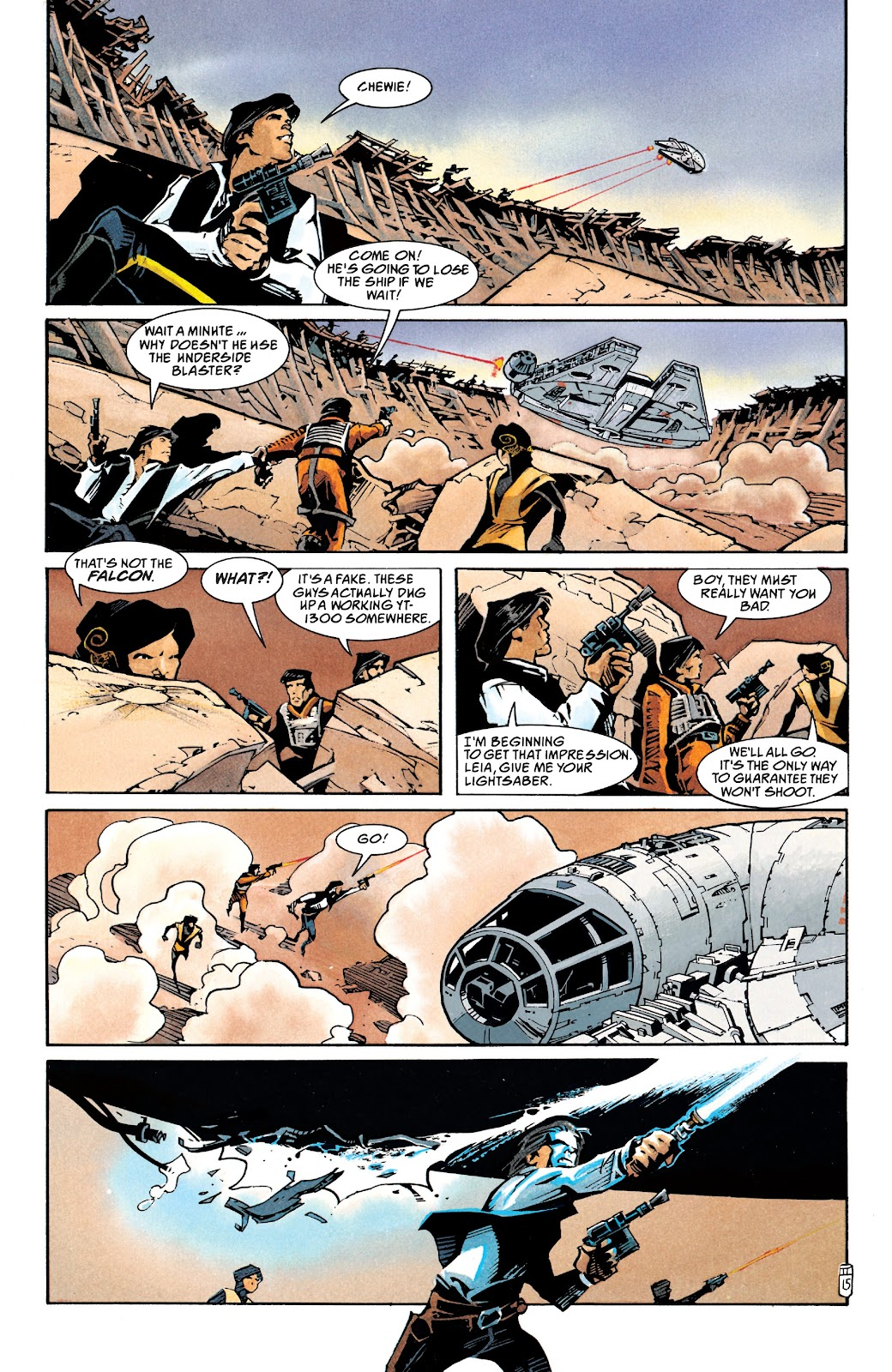 Read online Star Wars Legends: The New Republic - Epic Collection comic -  Issue # TPB 4 (Part 1) - 46