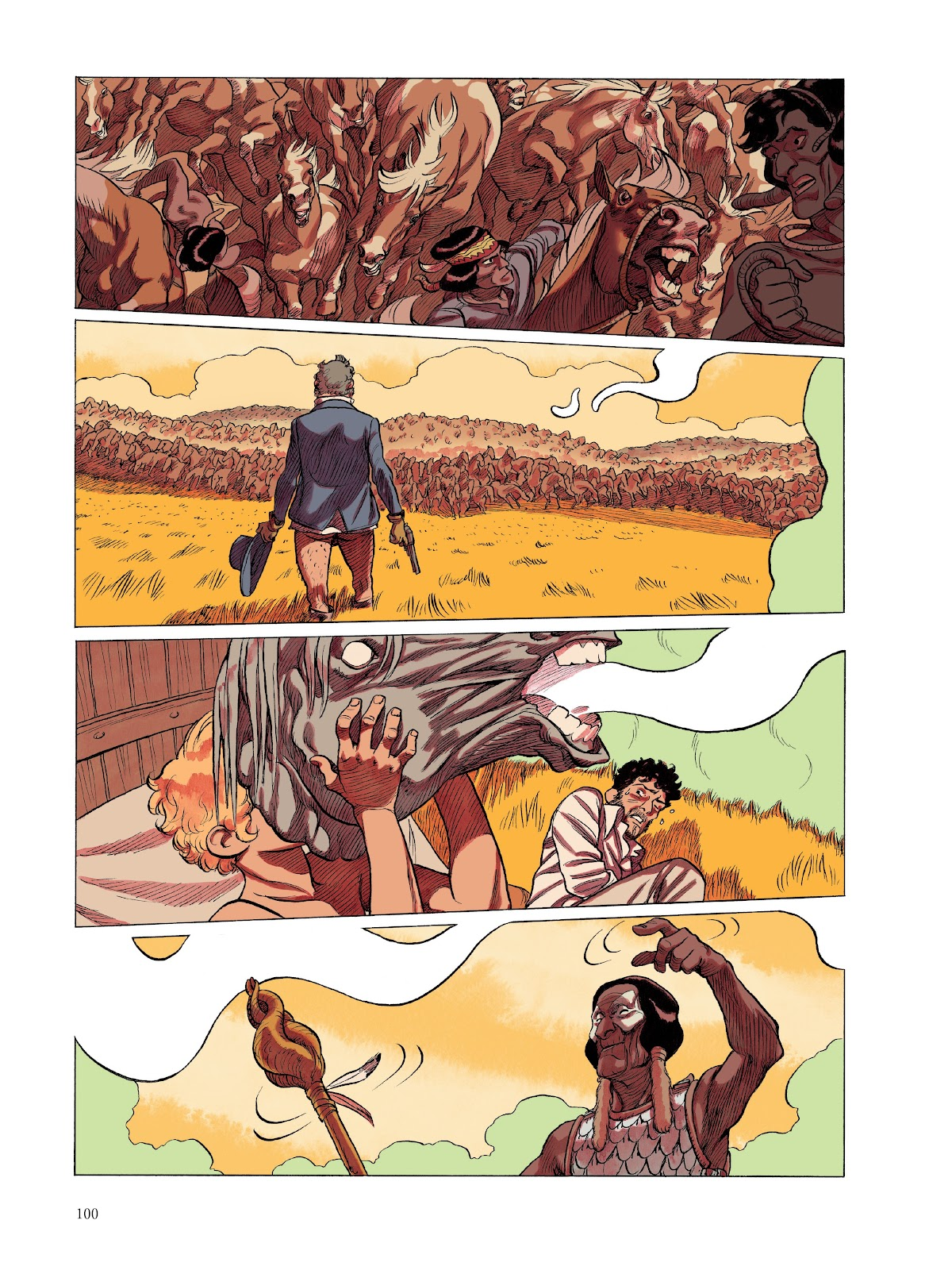 Read online The Smell of Starving Boys comic -  Issue # TPB - 101