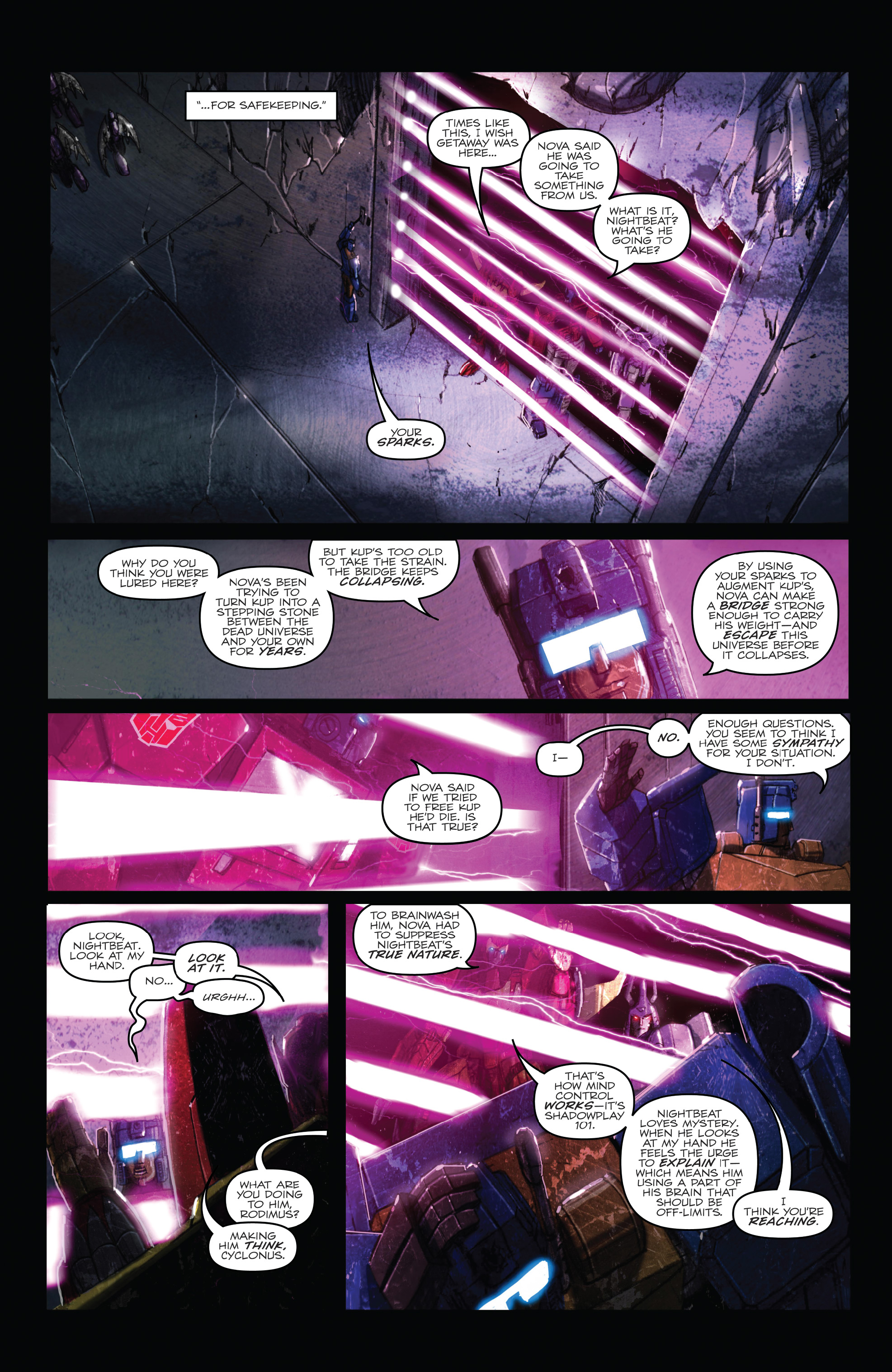 Read online The Transformers: Dark Cybertron Finale comic -  Issue # Full - 17