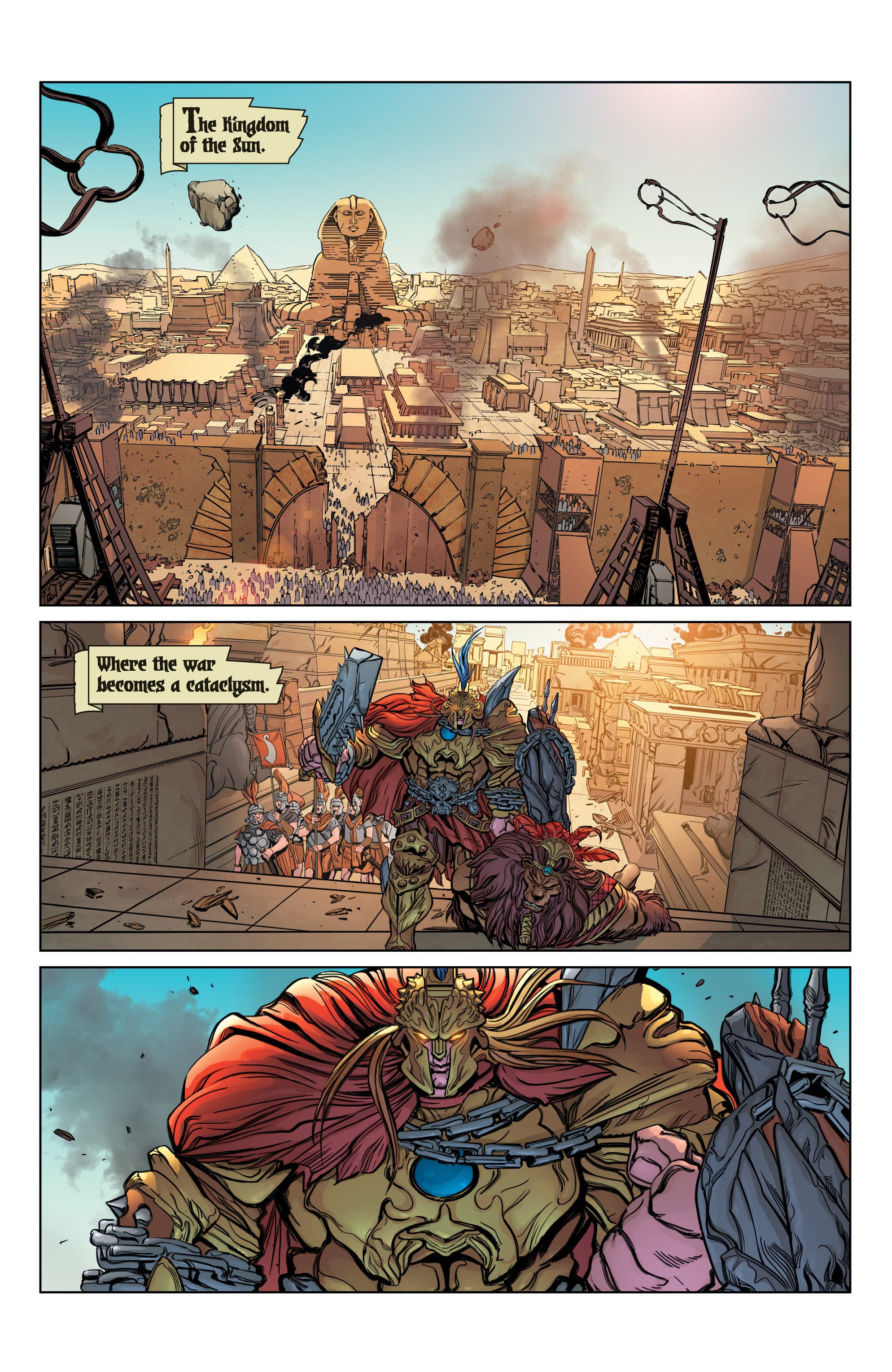 Read online SMITE: The Pantheon War comic -  Issue #3 - 3