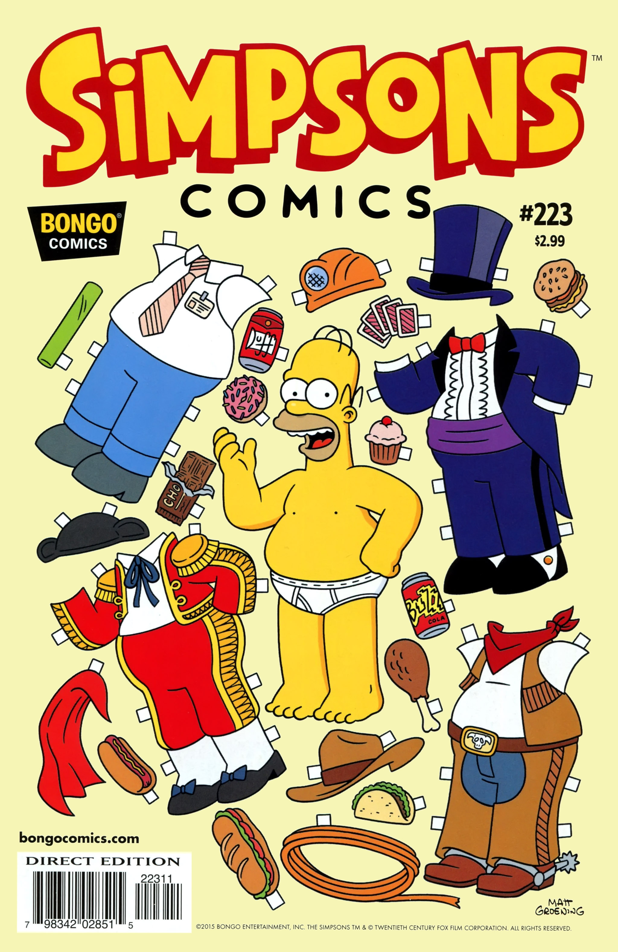 Simpsons Comics 223 Page 1