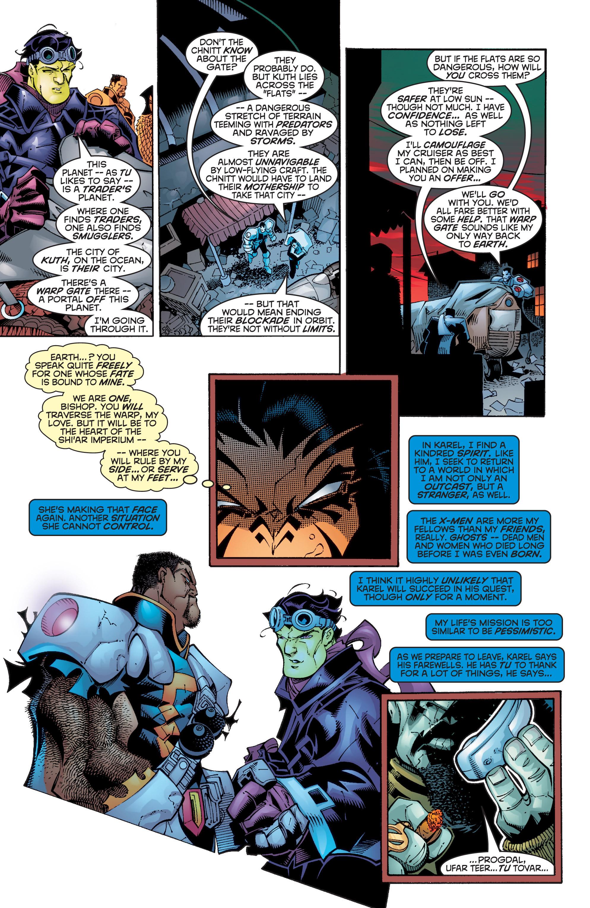 Read online Uncanny X-Men (1963) comic -  Issue #358 - 8