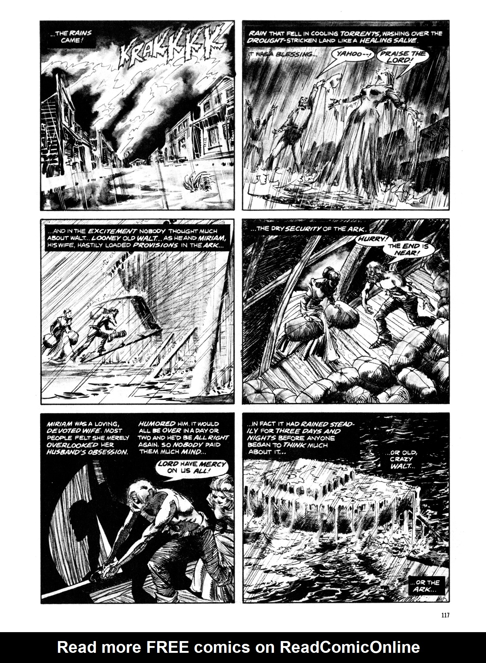 Read online Eerie Archives comic -  Issue # TPB 20 - 117