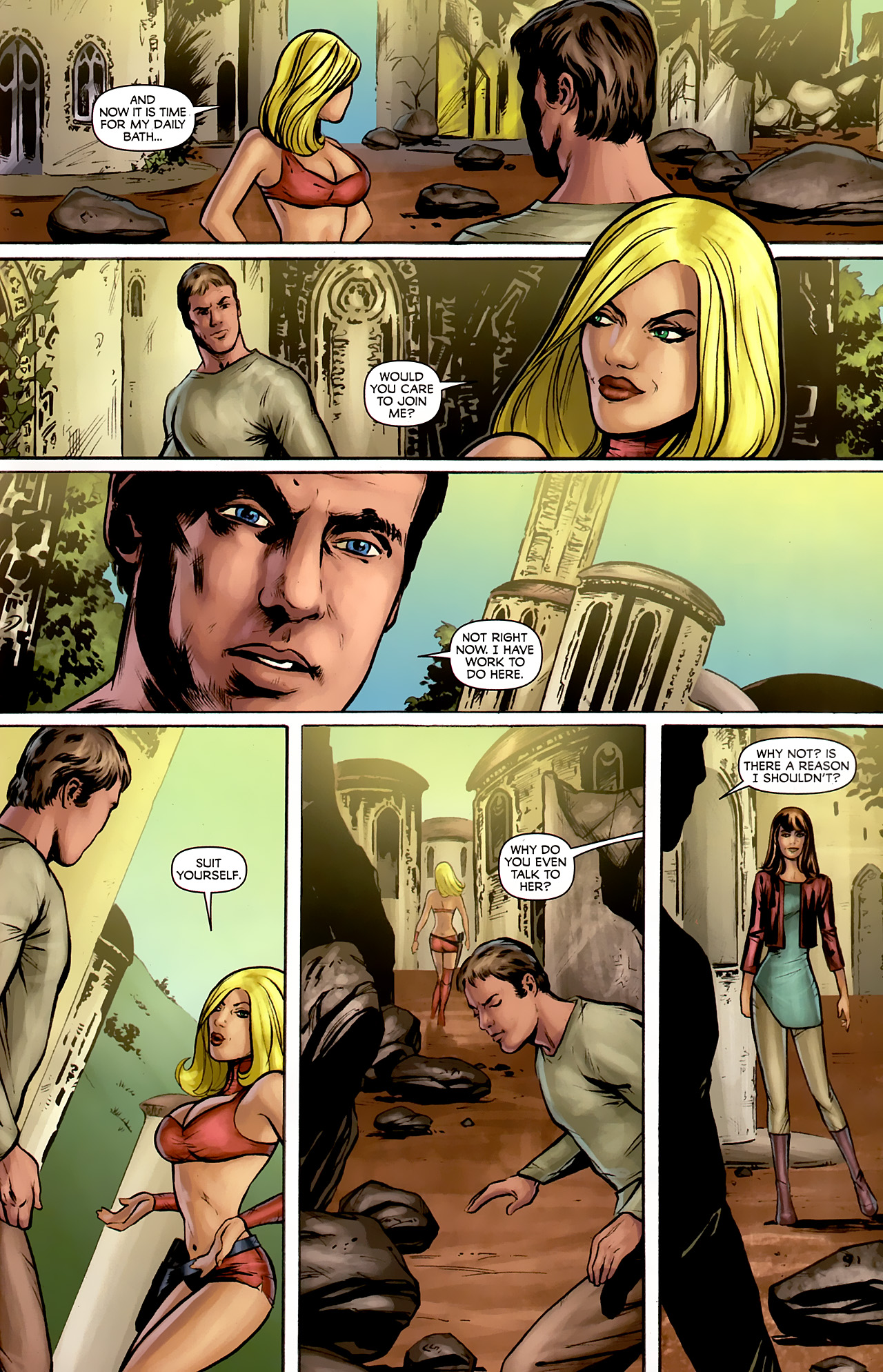 Read online Stargate: Daniel Jackson comic -  Issue #2 - 15
