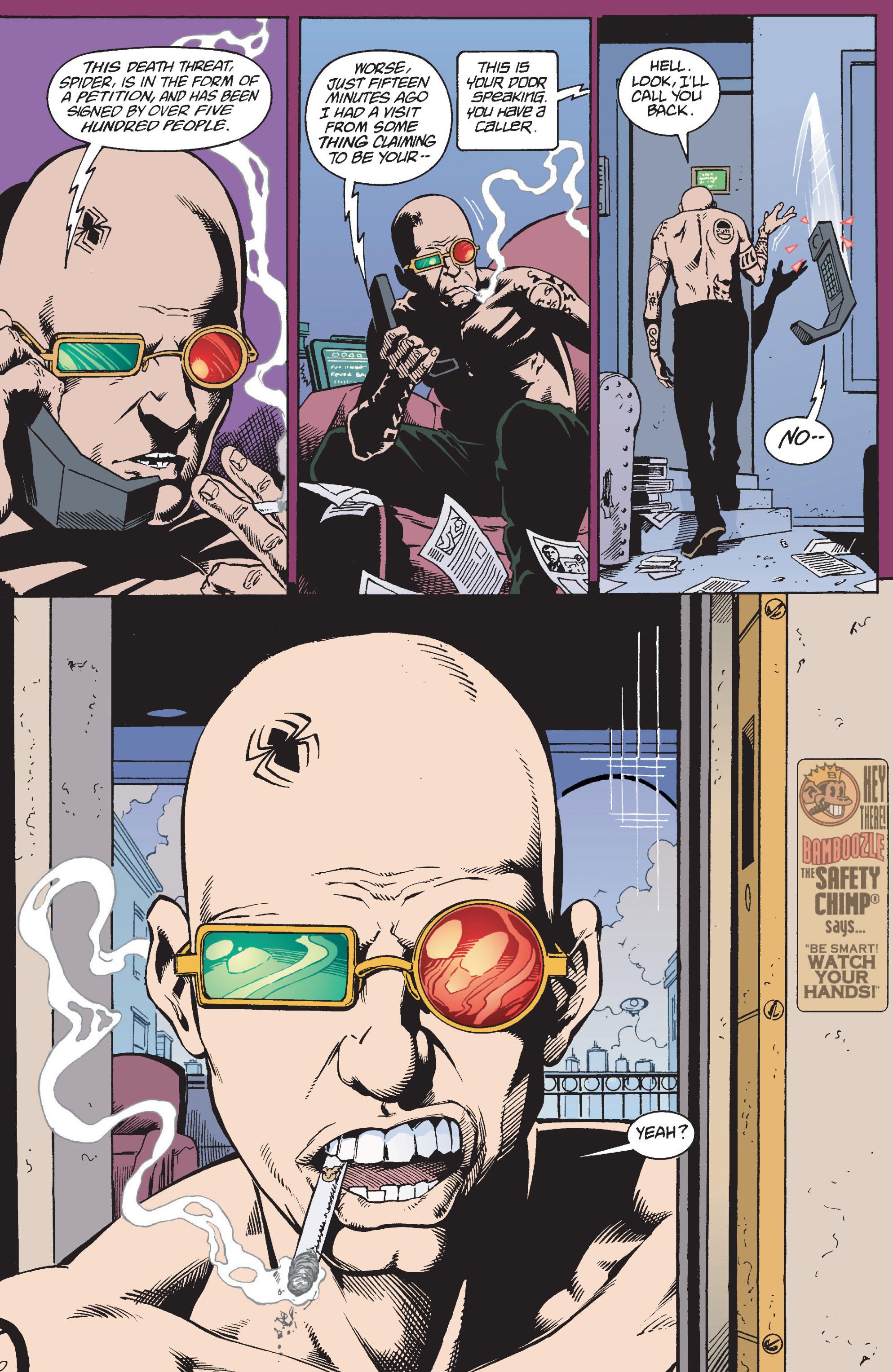 Read online Transmetropolitan comic -  Issue #10 - 7