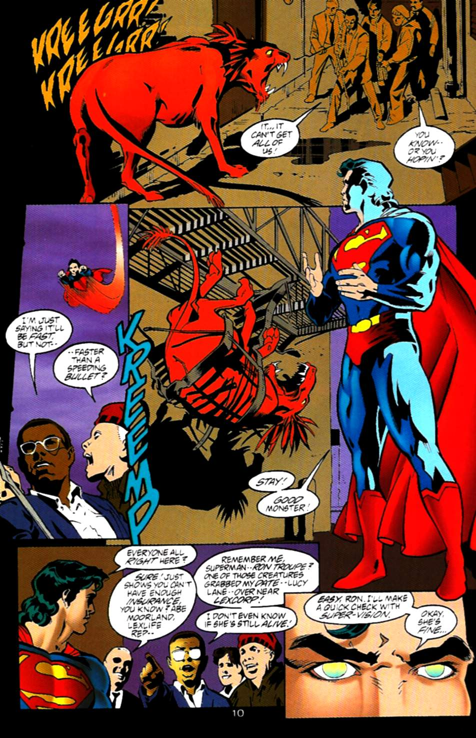 Read online Adventures of Superman (1987) comic -  Issue #537 - 11