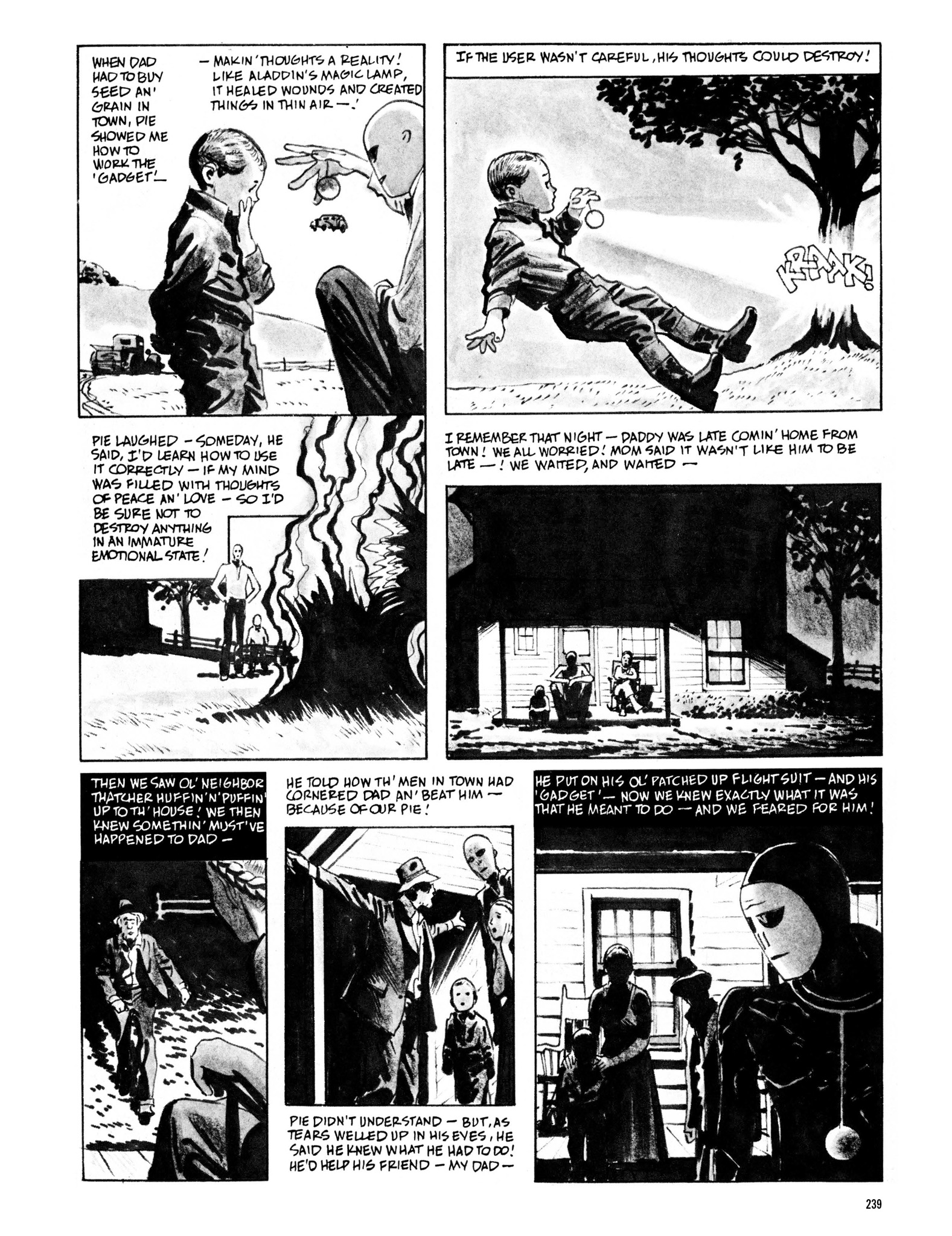 Read online Eerie Archives comic -  Issue # TPB 13 - 240