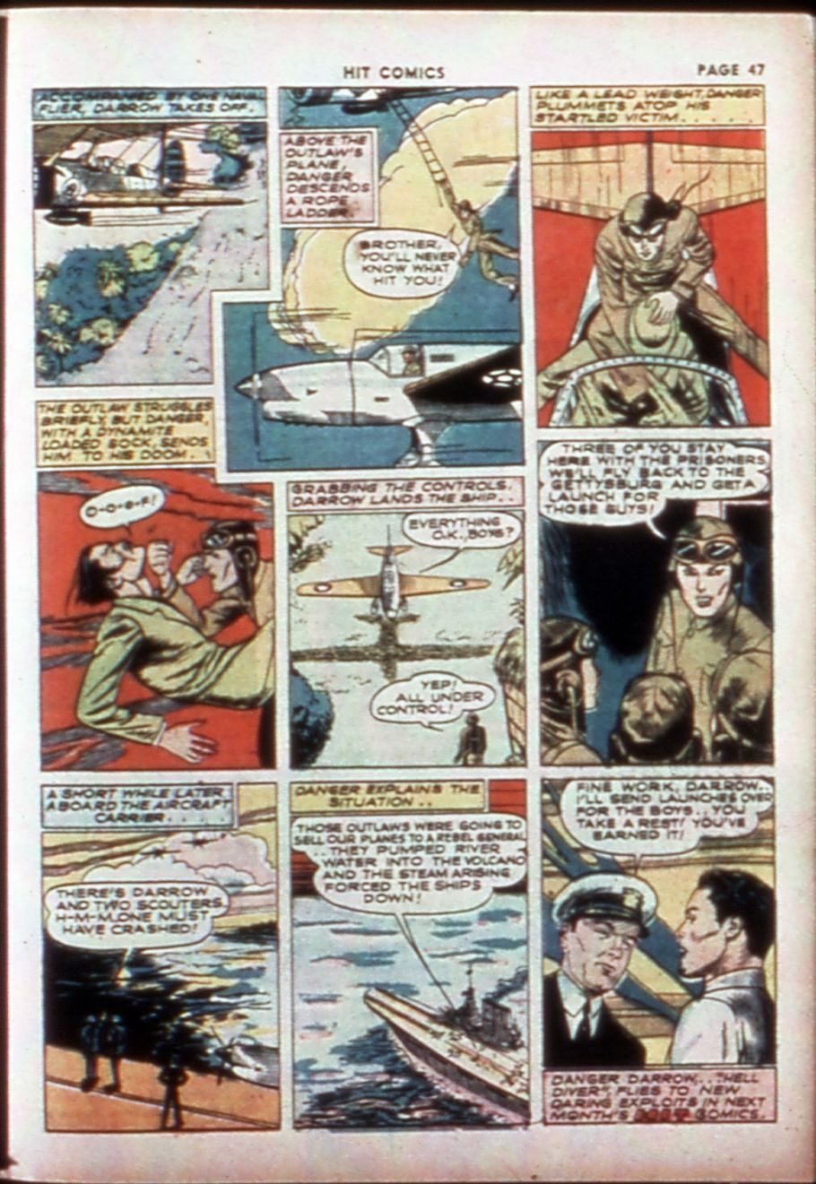 Read online Hit Comics comic -  Issue #14 - 49