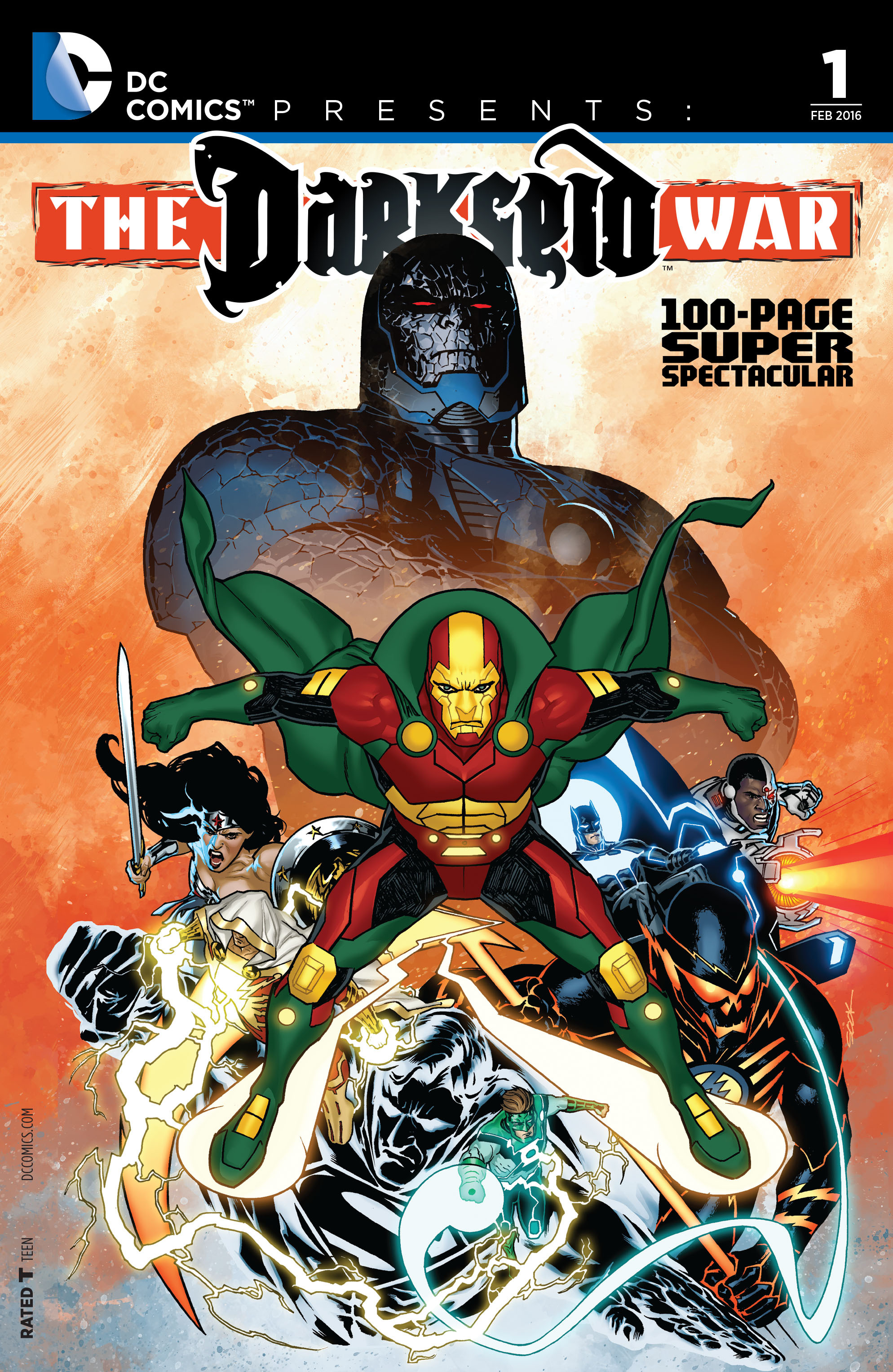 DC Comics Presents: Darkseid War 100-Page Super Spectacular Full Page 1