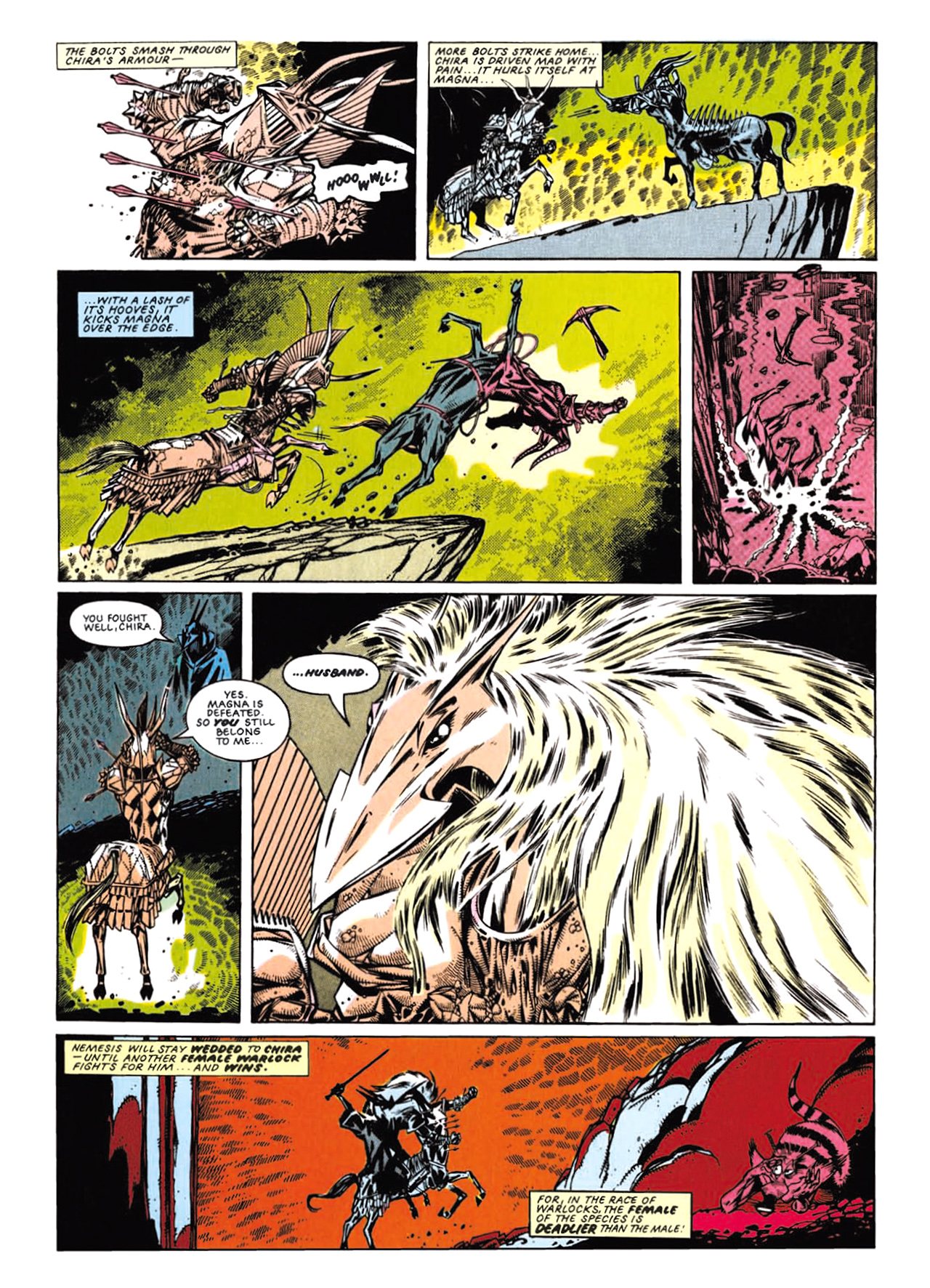 Read online Nemesis The Warlock comic -  Issue # TPB Deviant Edition - 157