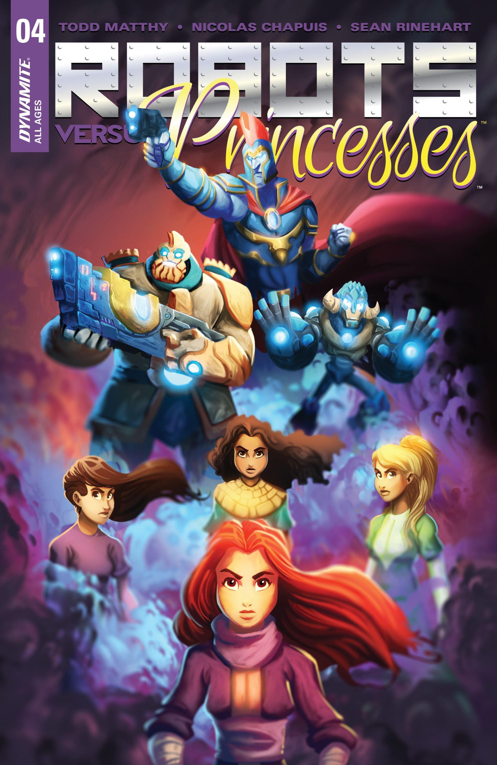 Robots Versus Princesses 4 Page 1