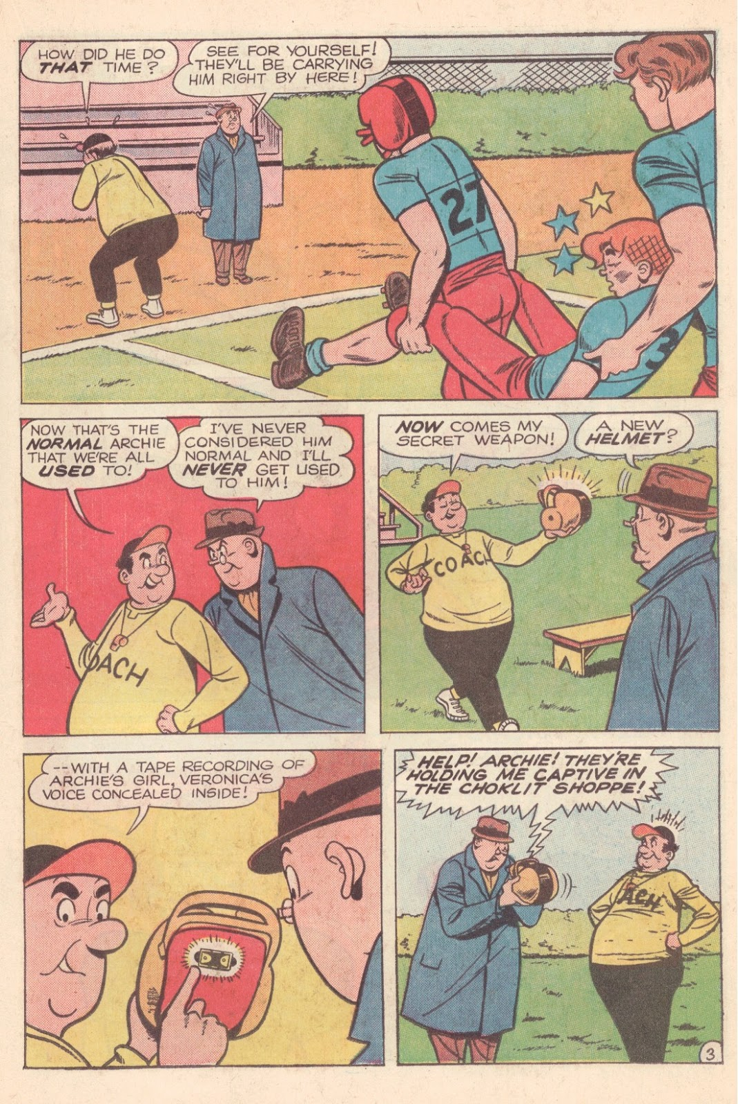 Read online Archie (1960) comic -  Issue #163 - 15