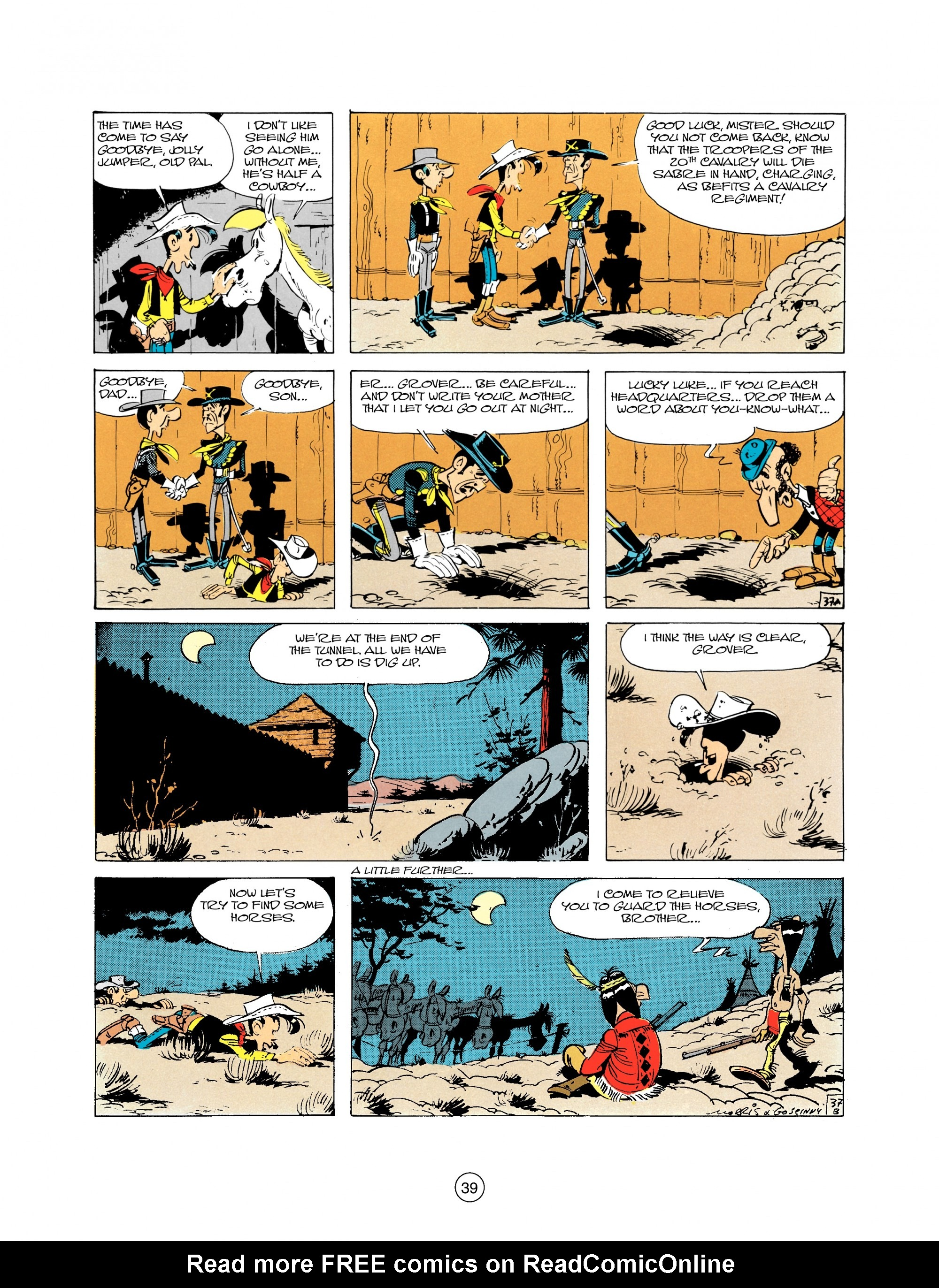 Read online A Lucky Luke Adventure comic -  Issue #21 - 39