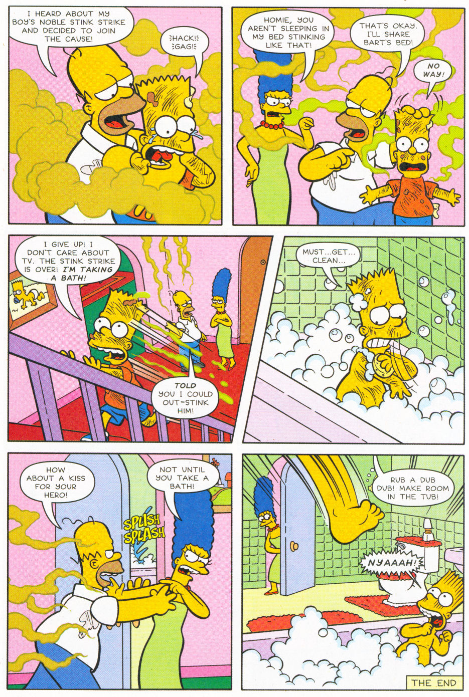 Read online Simpsons Comics Presents Bart Simpson comic -  Issue #26 - 30