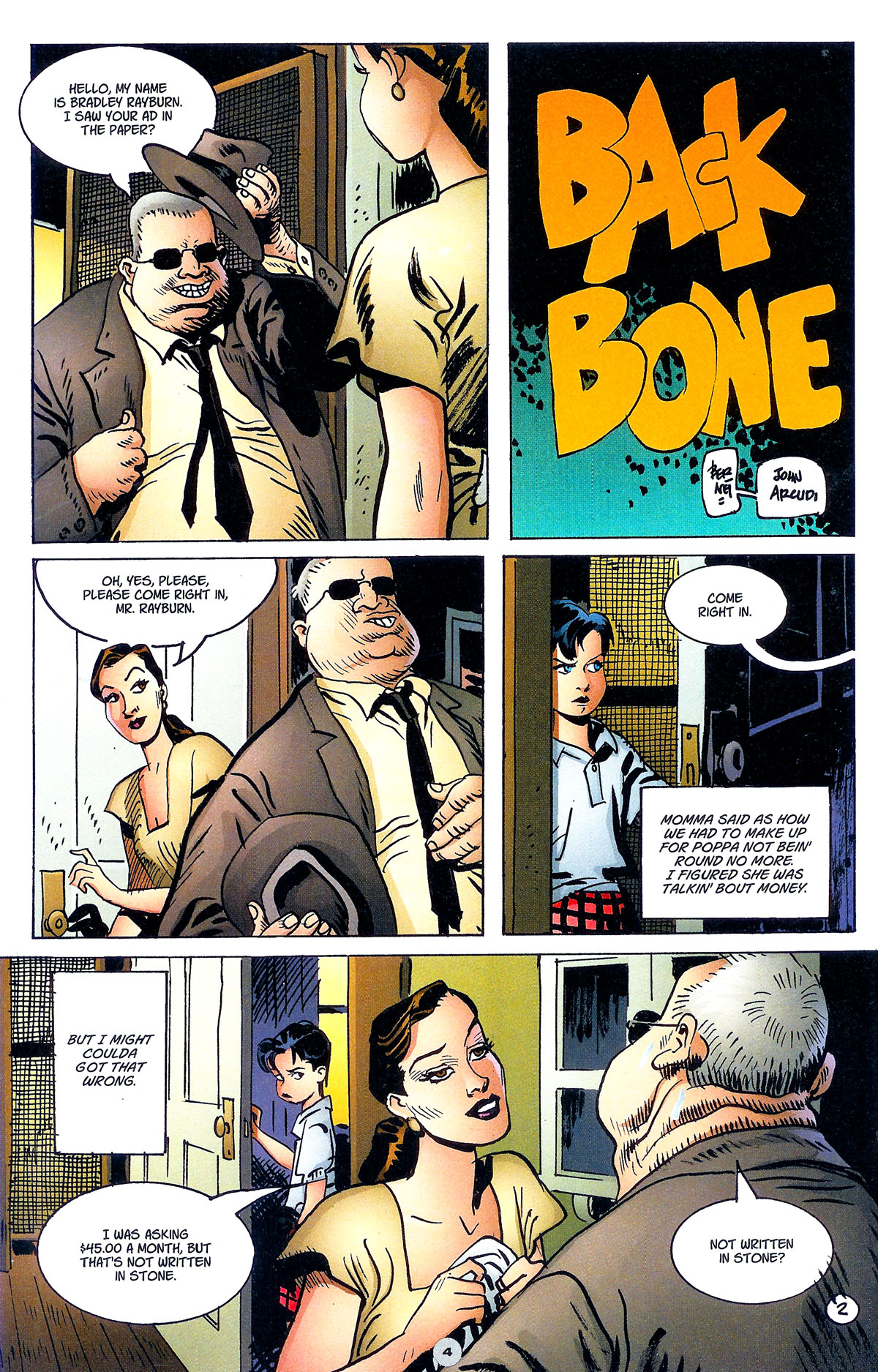 Read online Solo (2004) comic -  Issue #6 - 5