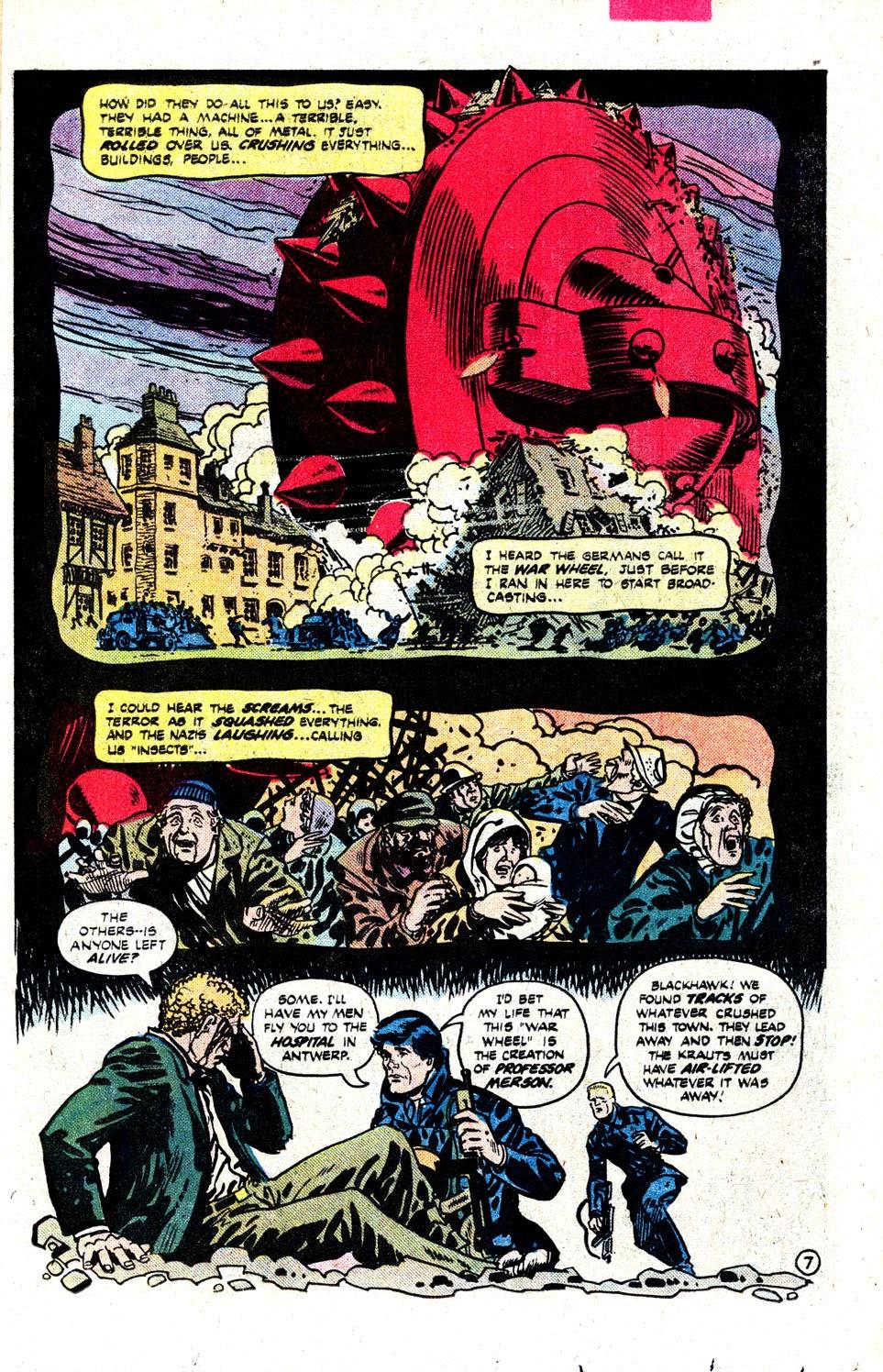 Read online Blackhawk (1957) comic -  Issue #252 - 10