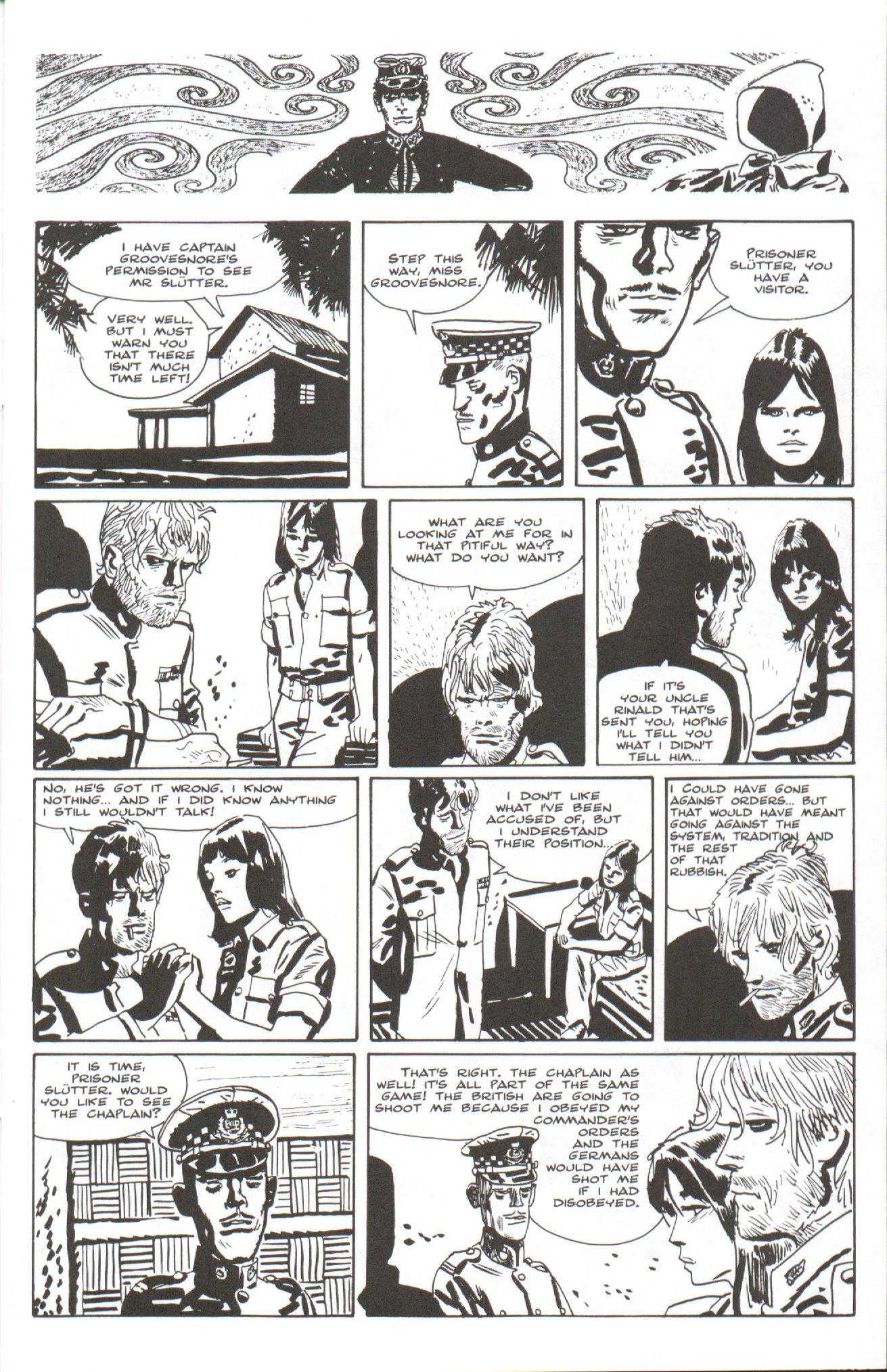 Read online Corto Maltese: Ballad of the Salt Sea comic -  Issue #7 - 9
