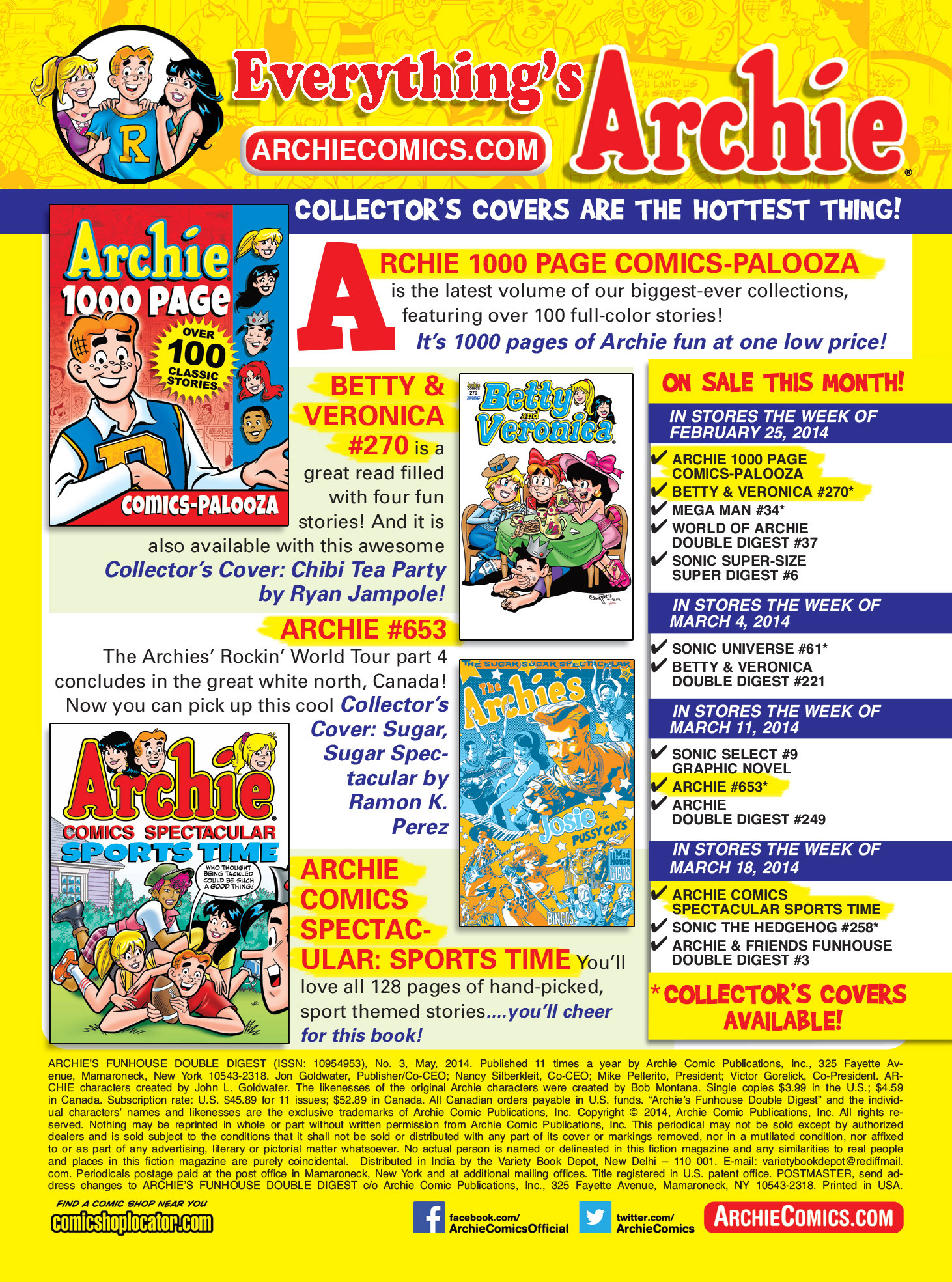 Read online Archie's Funhouse Double Digest comic -  Issue #3 - 158