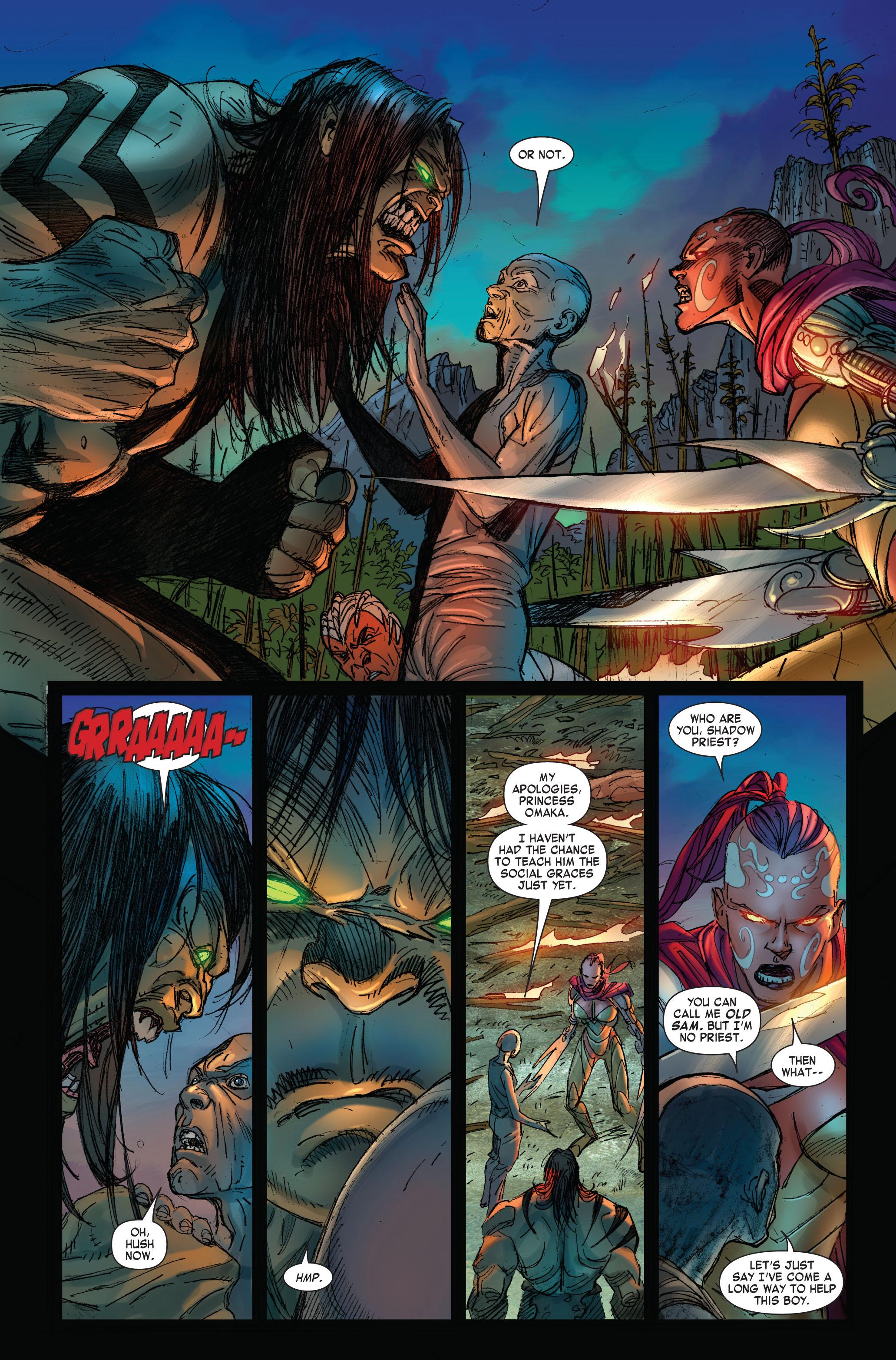Read online Skaar: Son of Hulk comic -  Issue #3 - 4