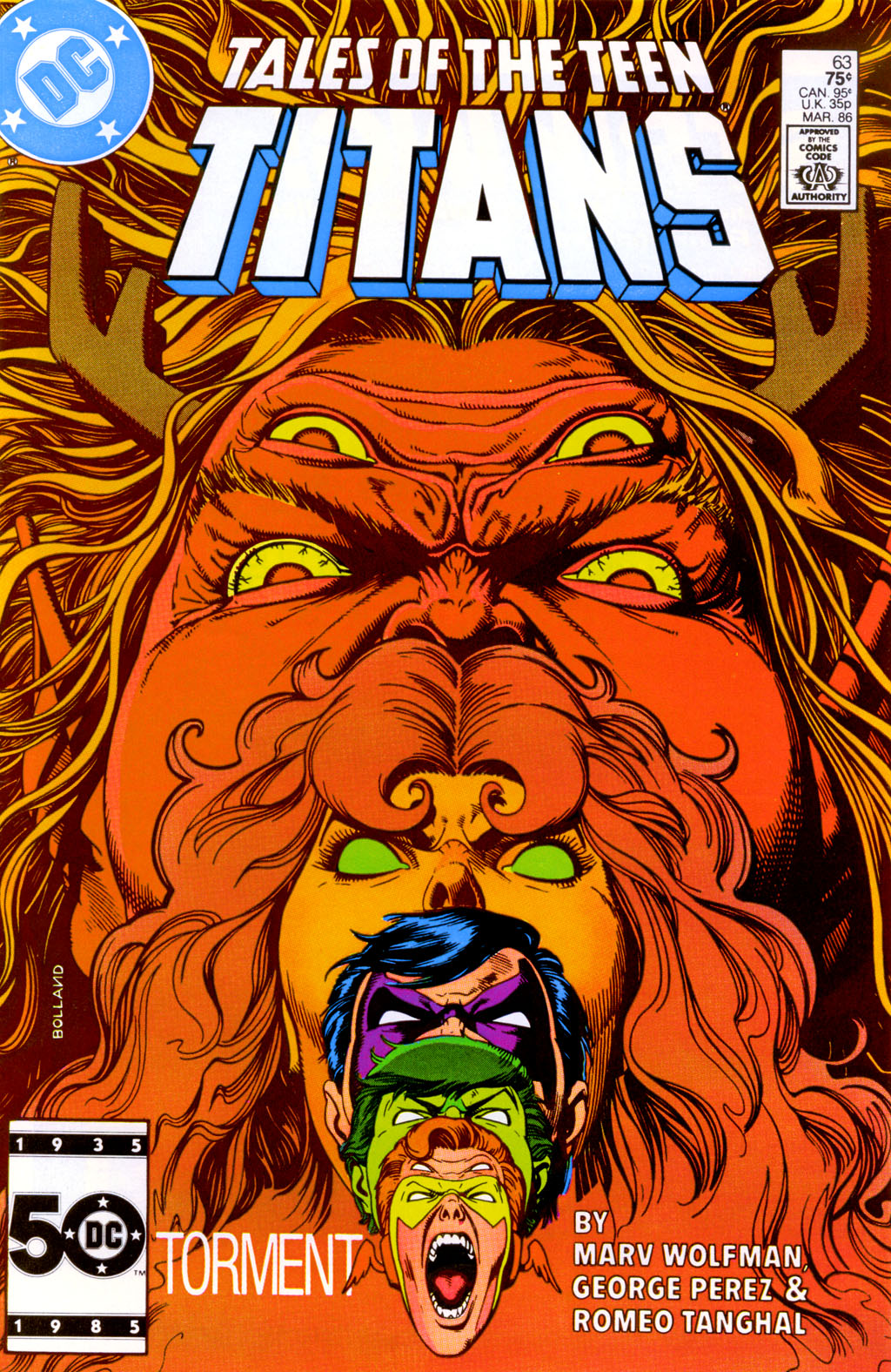 Tales of the Teen Titans 63 Page 1
