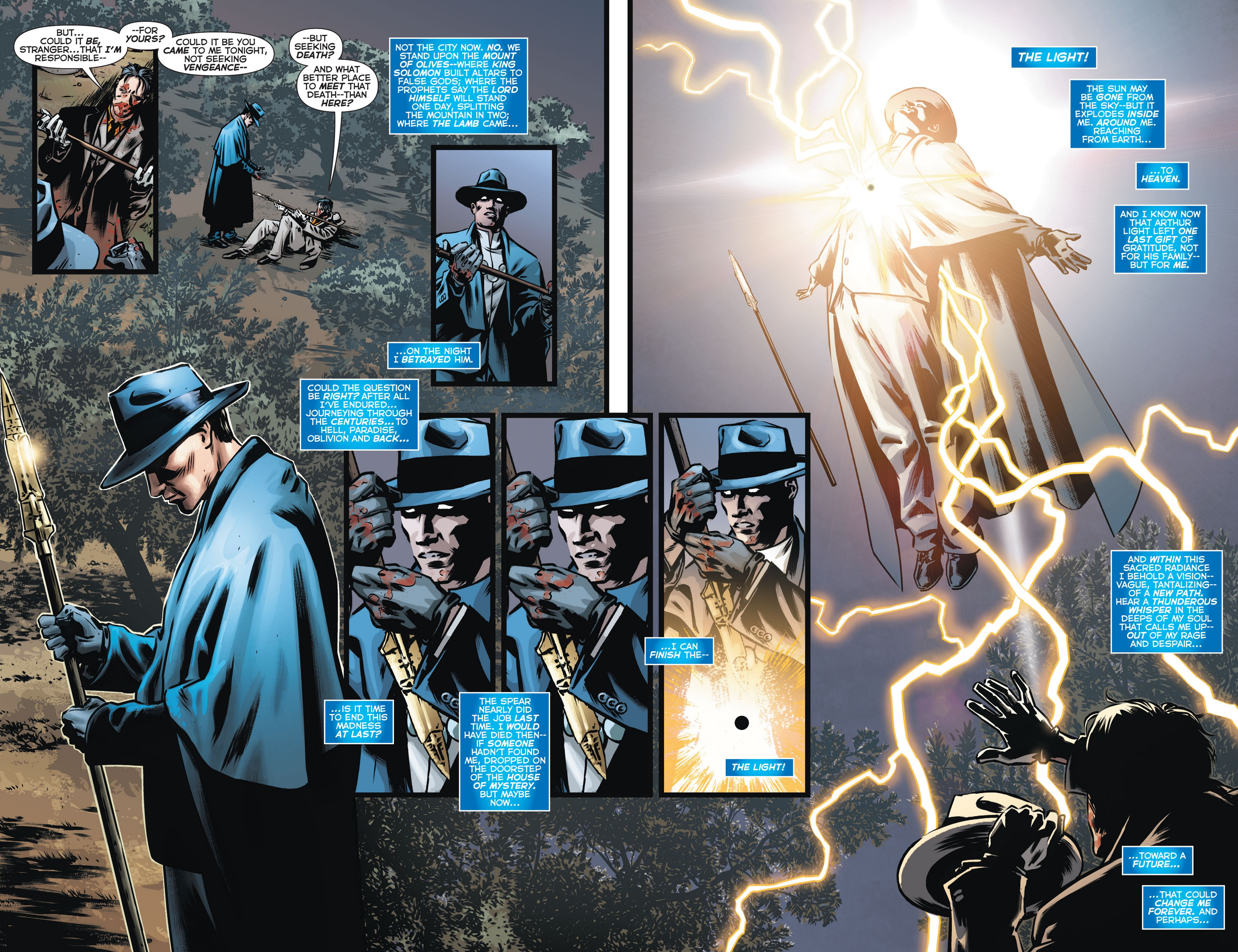 Read online Trinity of Sin: The Phantom Stranger comic -  Issue #13 - 17