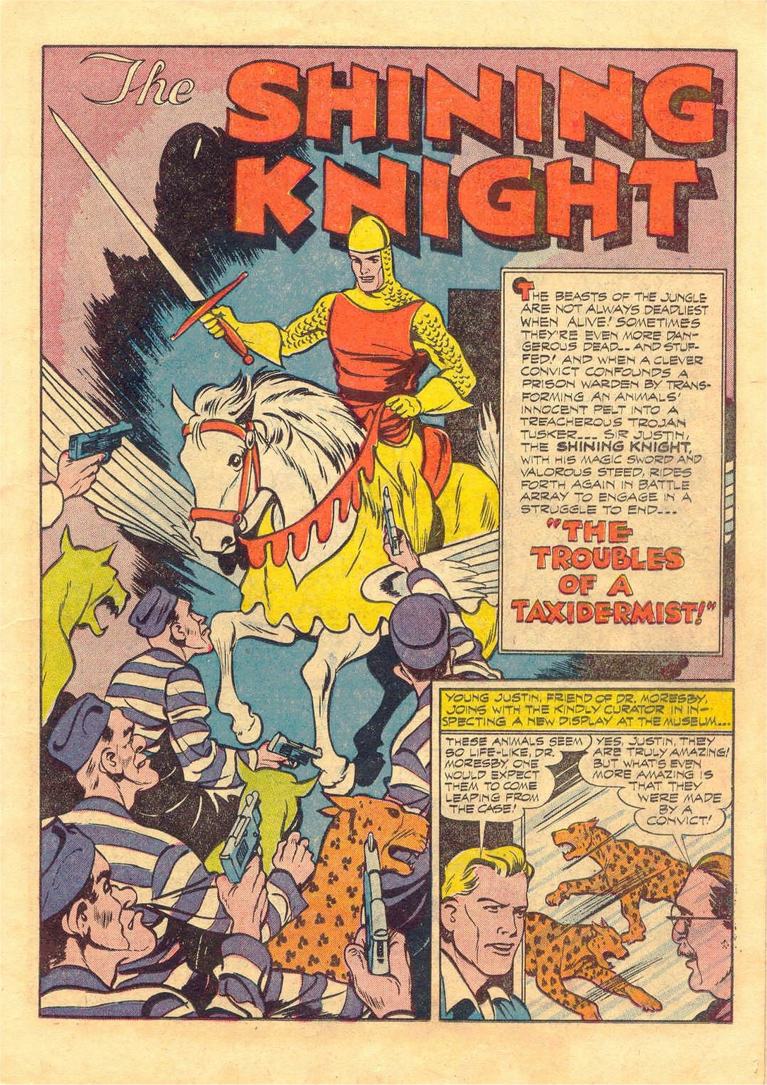 Read online Adventure Comics (1938) comic -  Issue #87 - 21