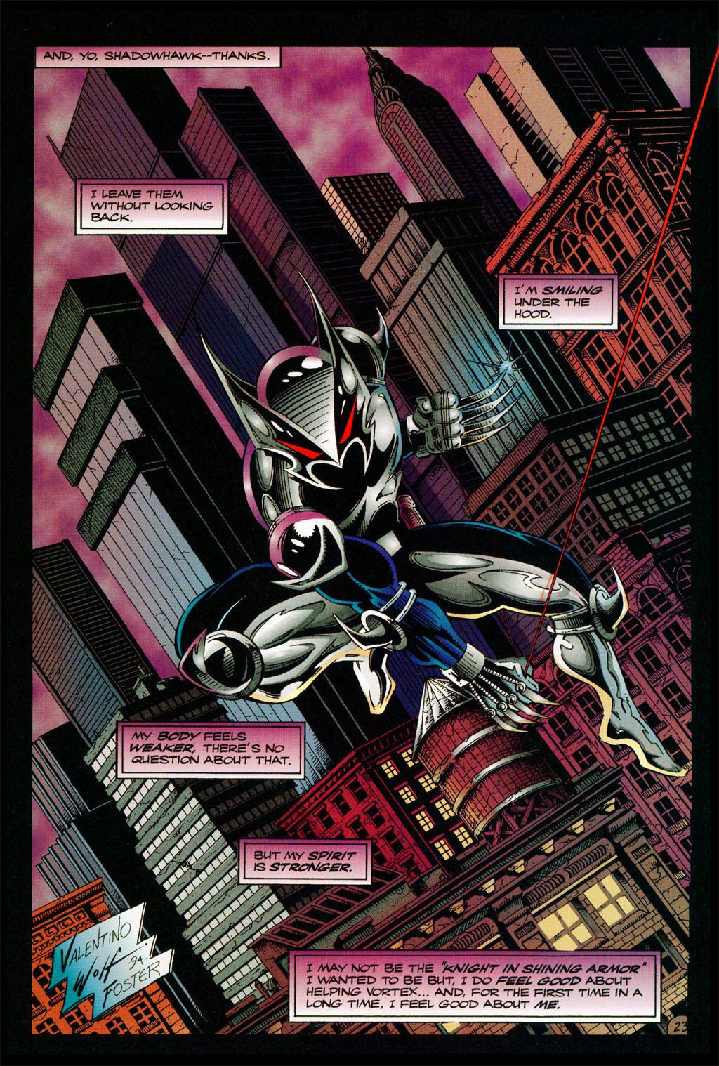 Read online ShadowHawk comic -  Issue #11 - 20