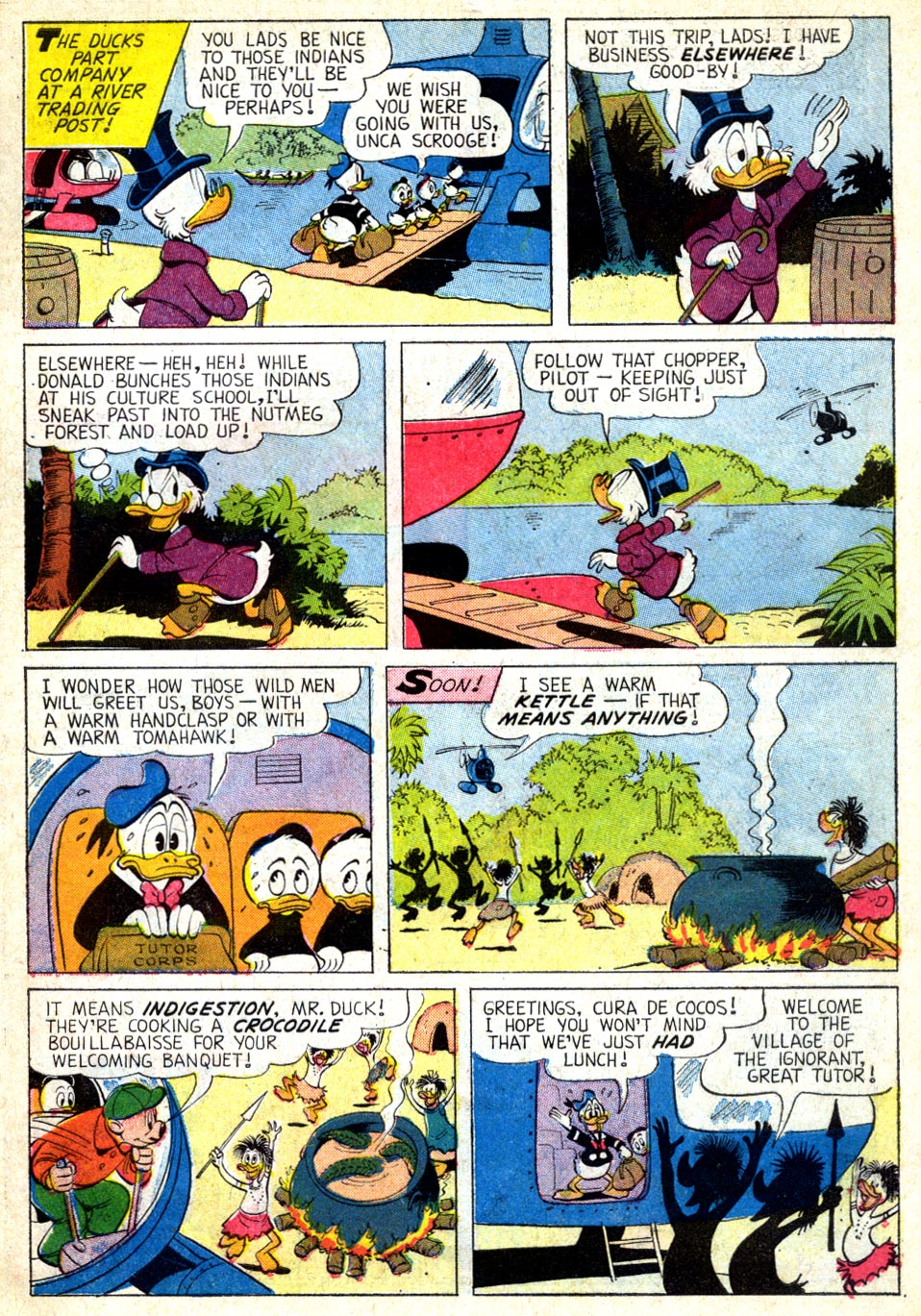 Read online Uncle Scrooge (1953) comic -  Issue #39 - 7