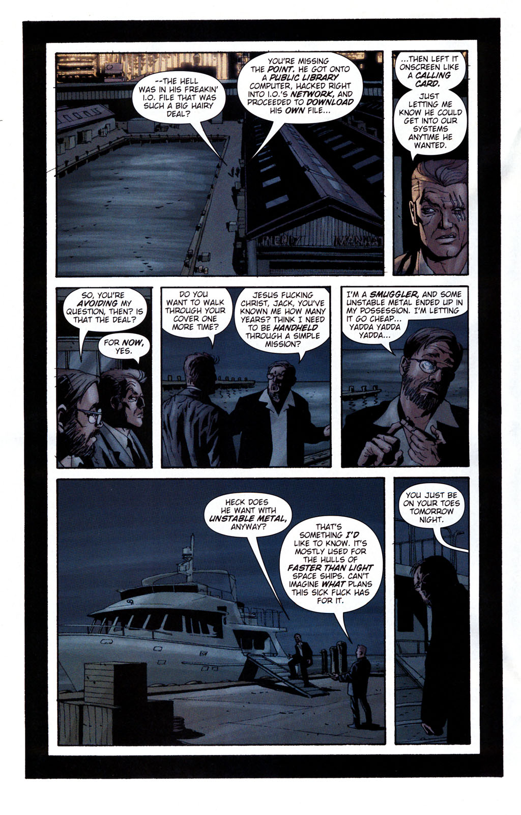 Read online Sleeper: Season Two comic -  Issue #5 - 13