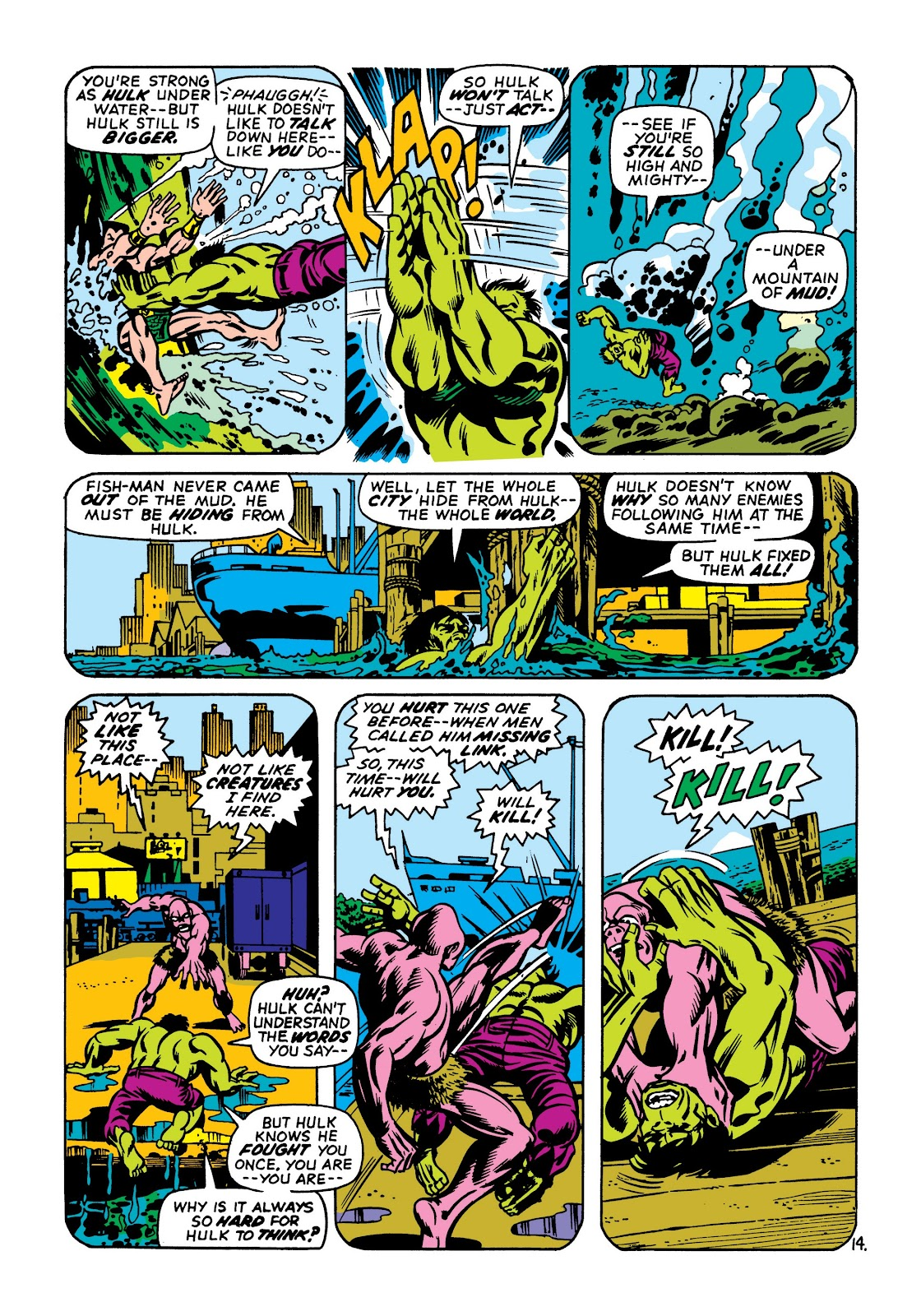Read online Marvel Masterworks: The Incredible Hulk comic -  Issue # TPB 7 (Part 1) - 100