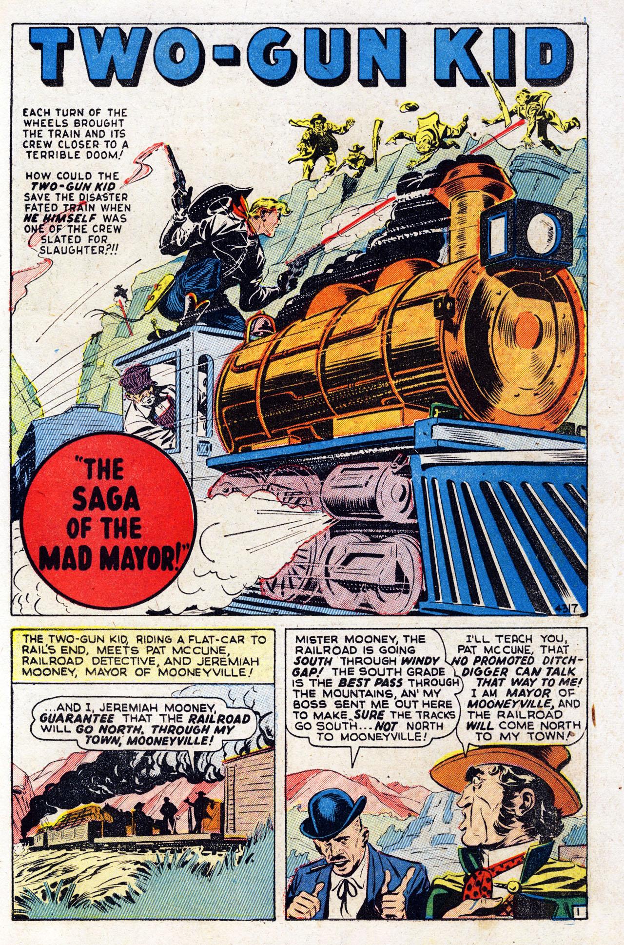 Read online Two-Gun Kid comic -  Issue #7 - 25