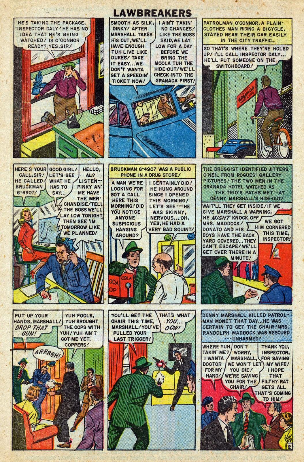 Lawbreakers Always Lose! issue 9 - Page 4
