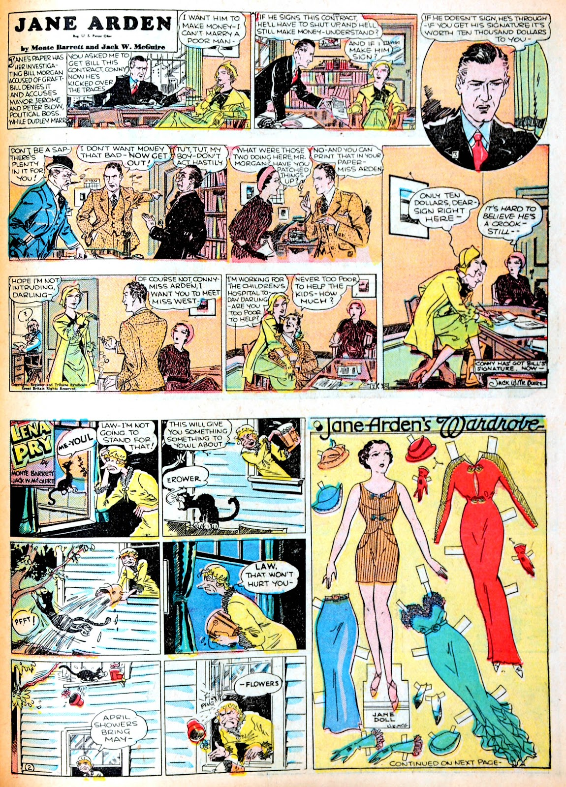 Read online Famous Funnies comic -  Issue #13 - 45