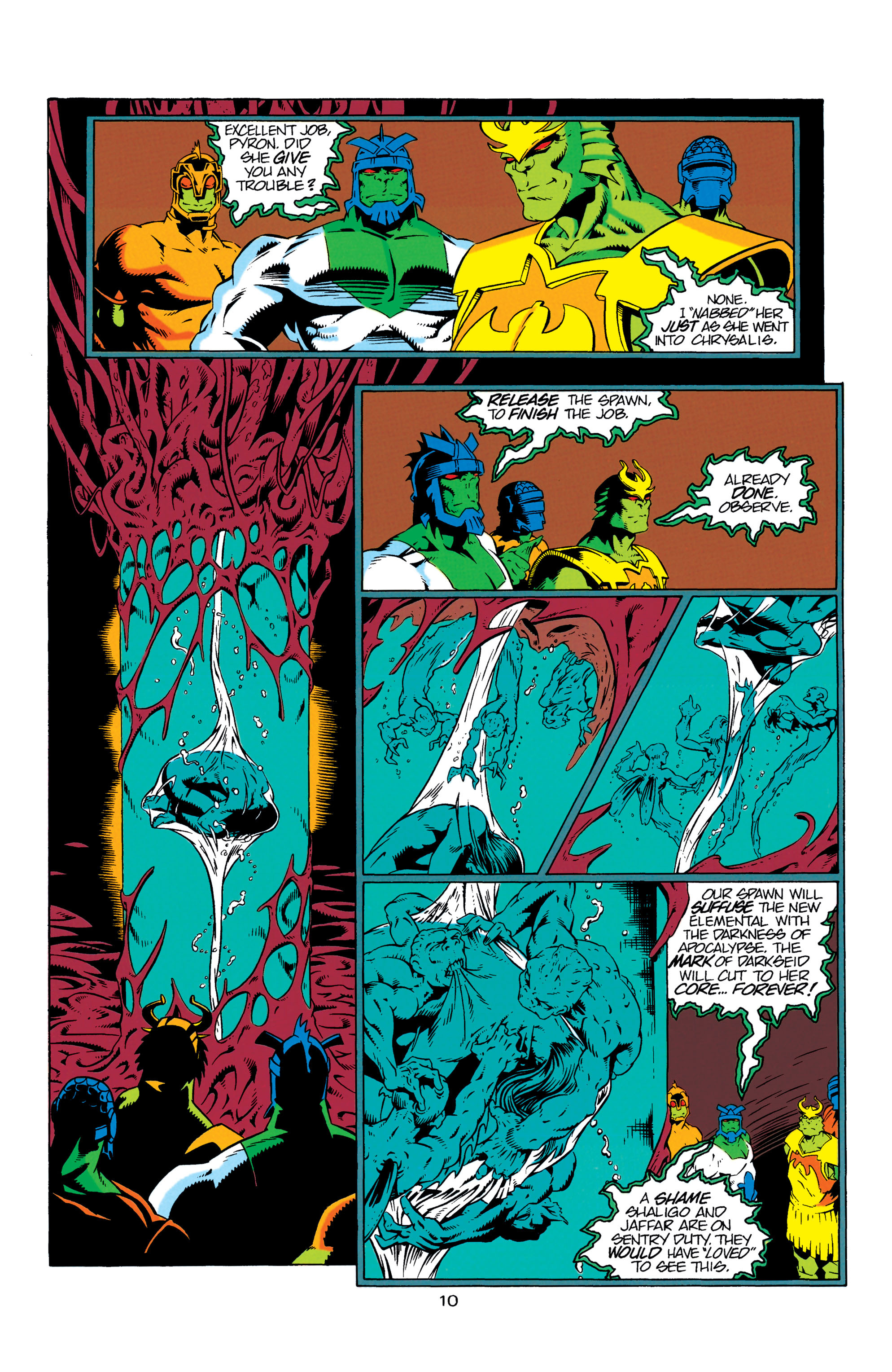 Read online Aquaman (1994) comic -  Issue #7 - 11