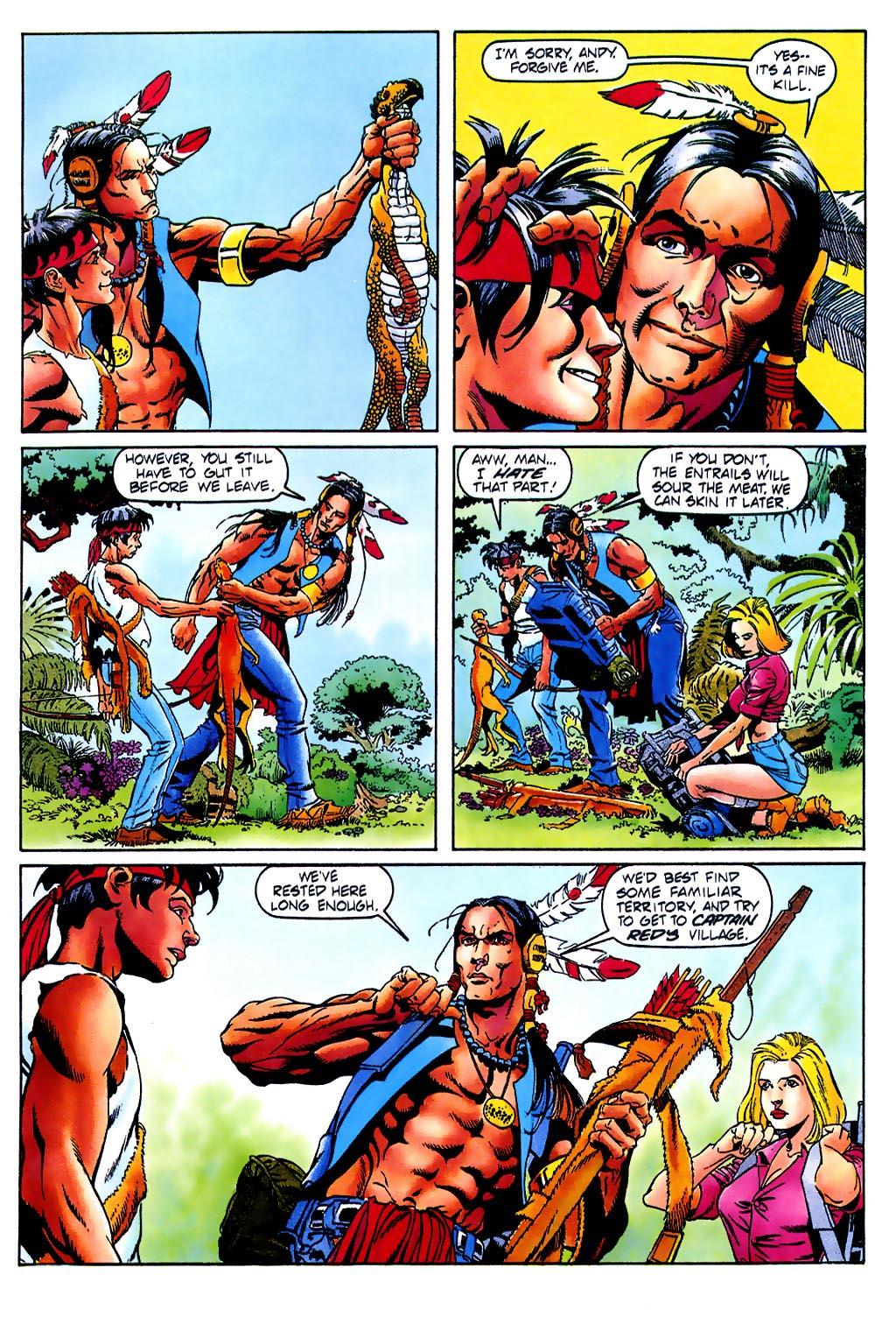 Read online Turok, Dinosaur Hunter (1993) comic -  Issue #37 - 6