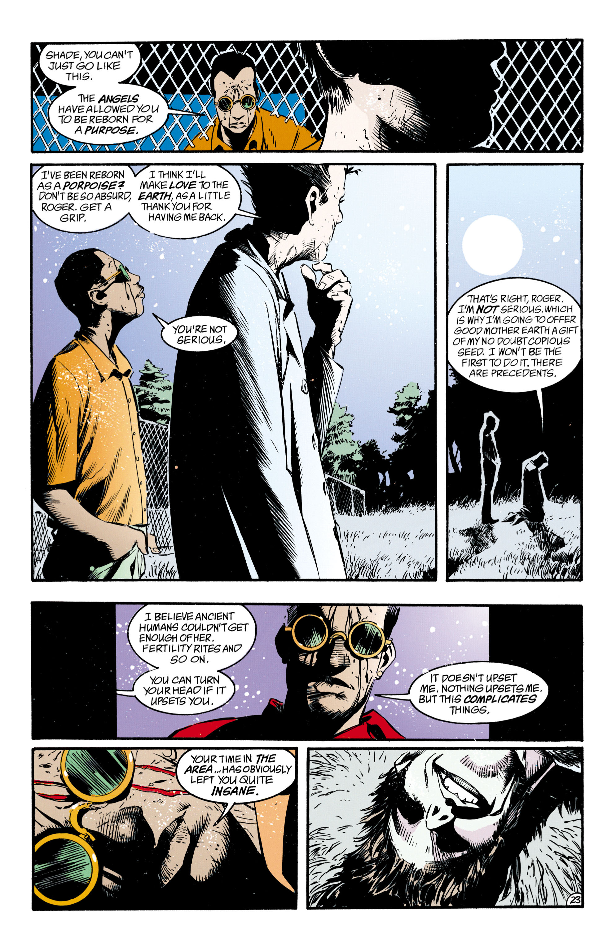 Read online Shade, the Changing Man comic -  Issue #33 - 24