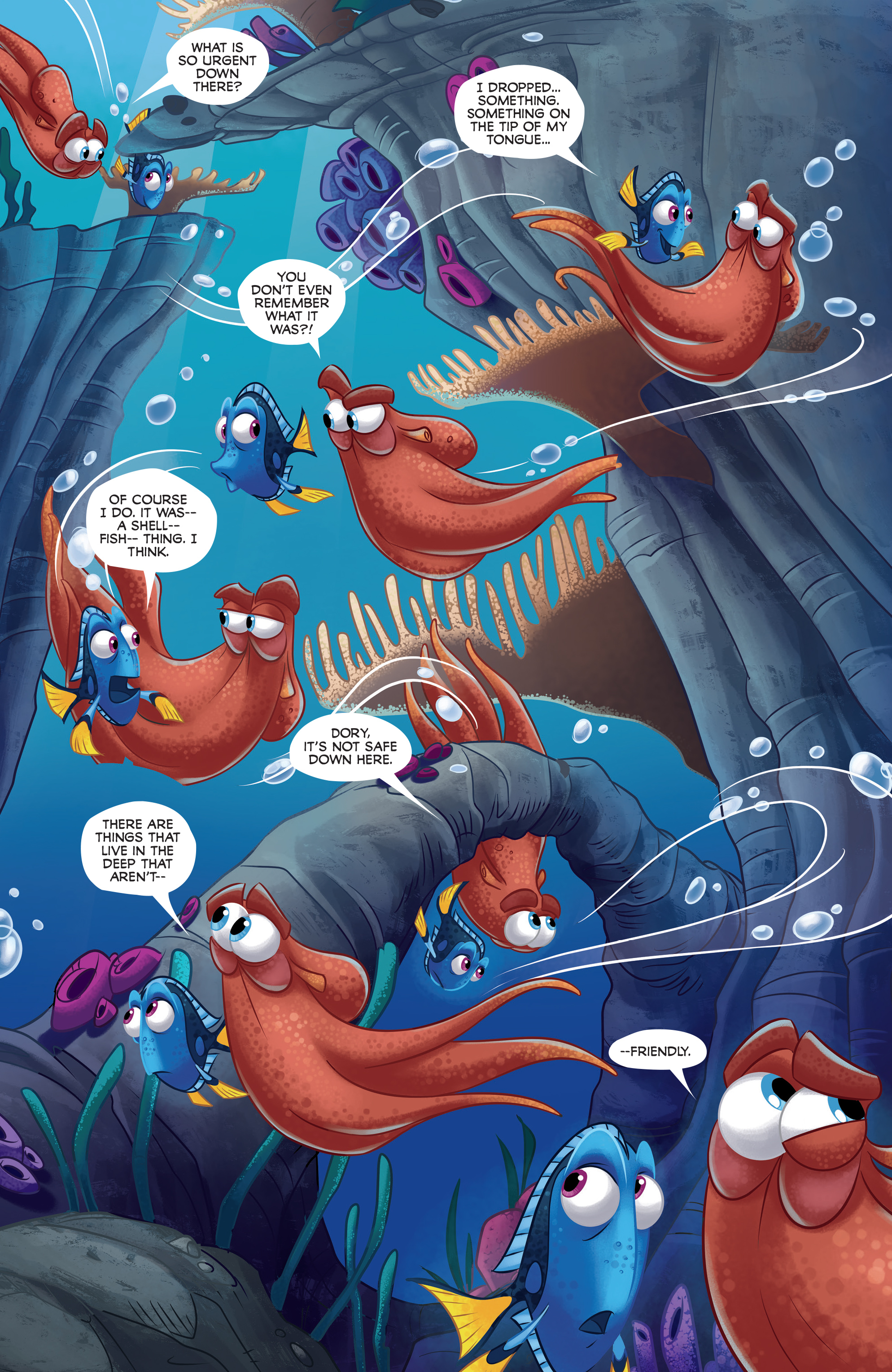Read online Disney Pixar Finding Dory comic -  Issue #2 - 13