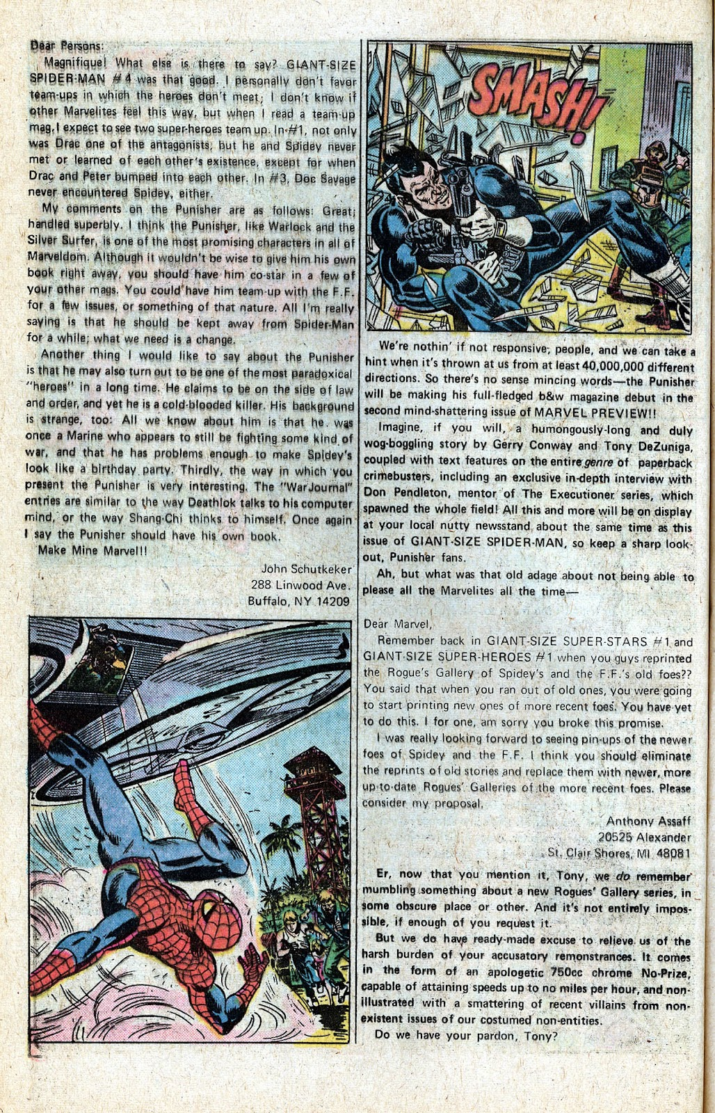 Giant-Size Spider-Man (1974) issue 5 - Page 44