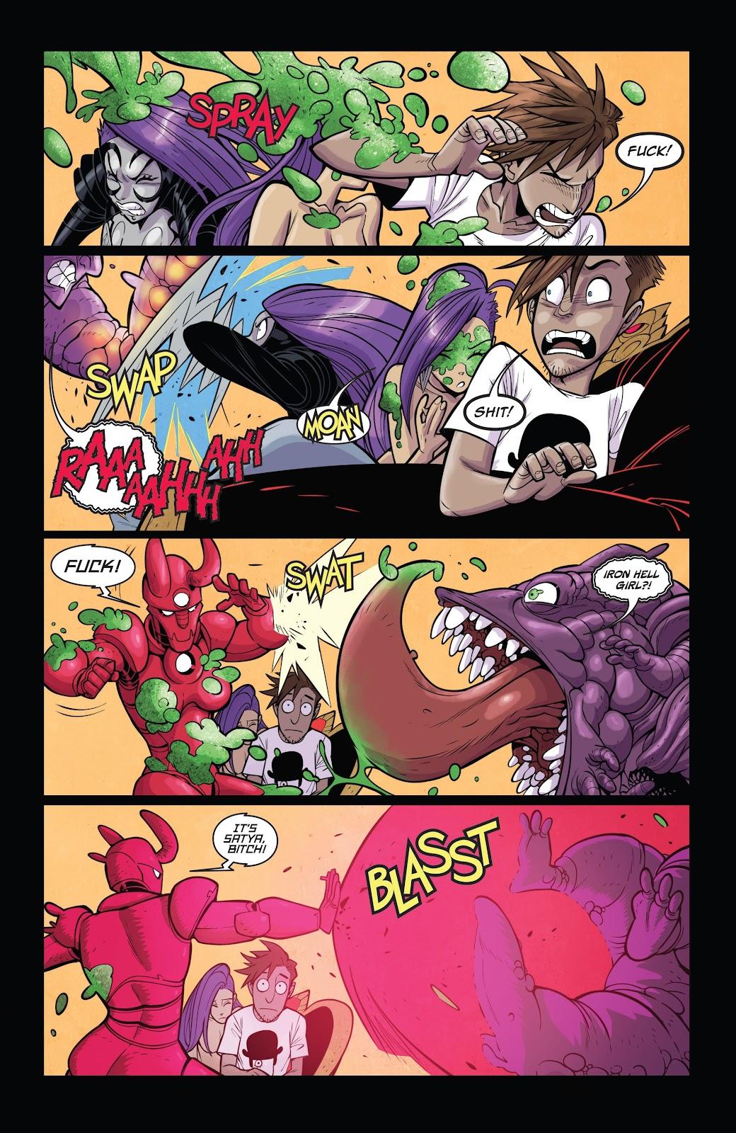 Read online Vampblade Season 3 comic -  Issue #11 - 20