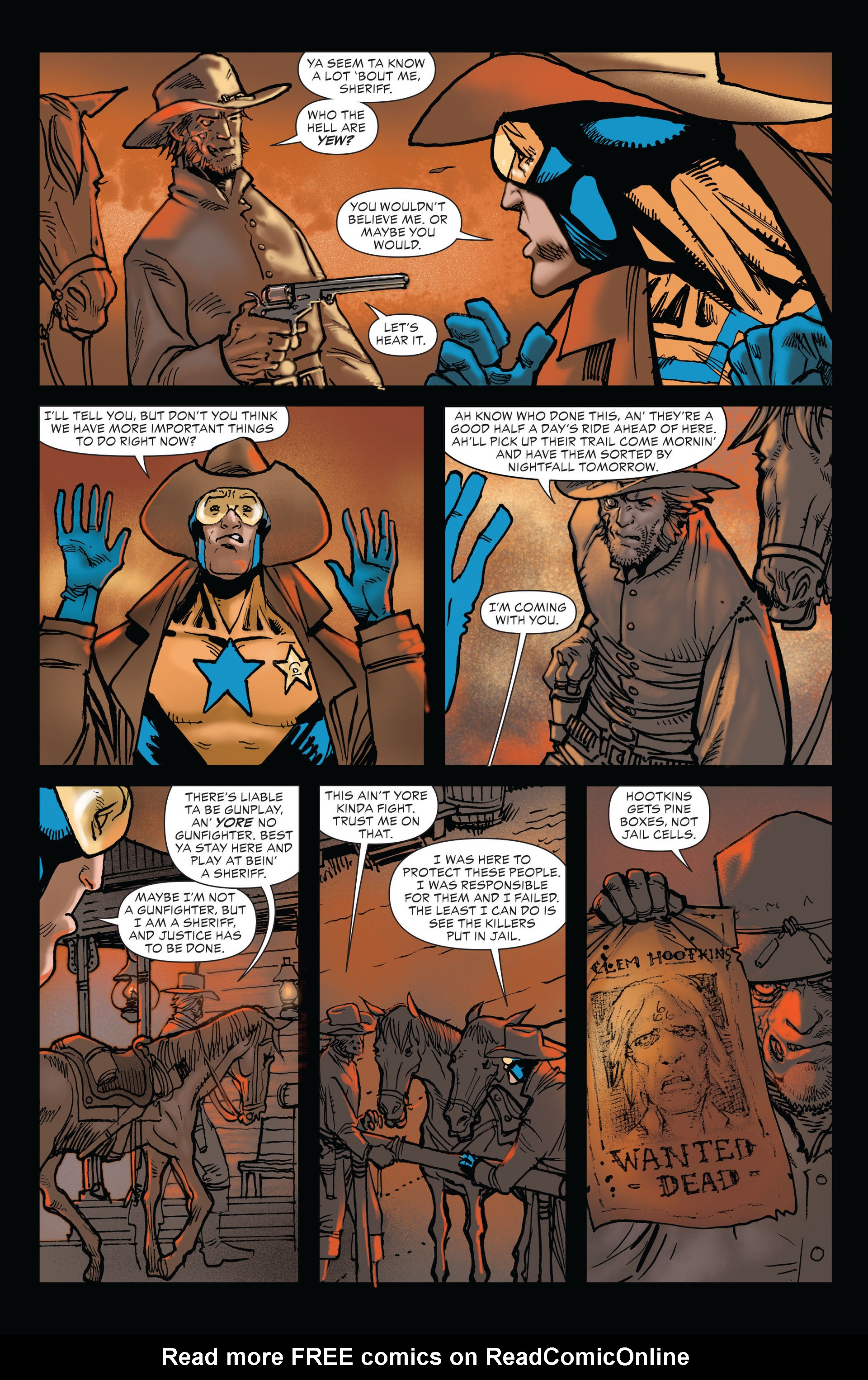 Read online All-Star Western (2011) comic -  Issue #19 - 13