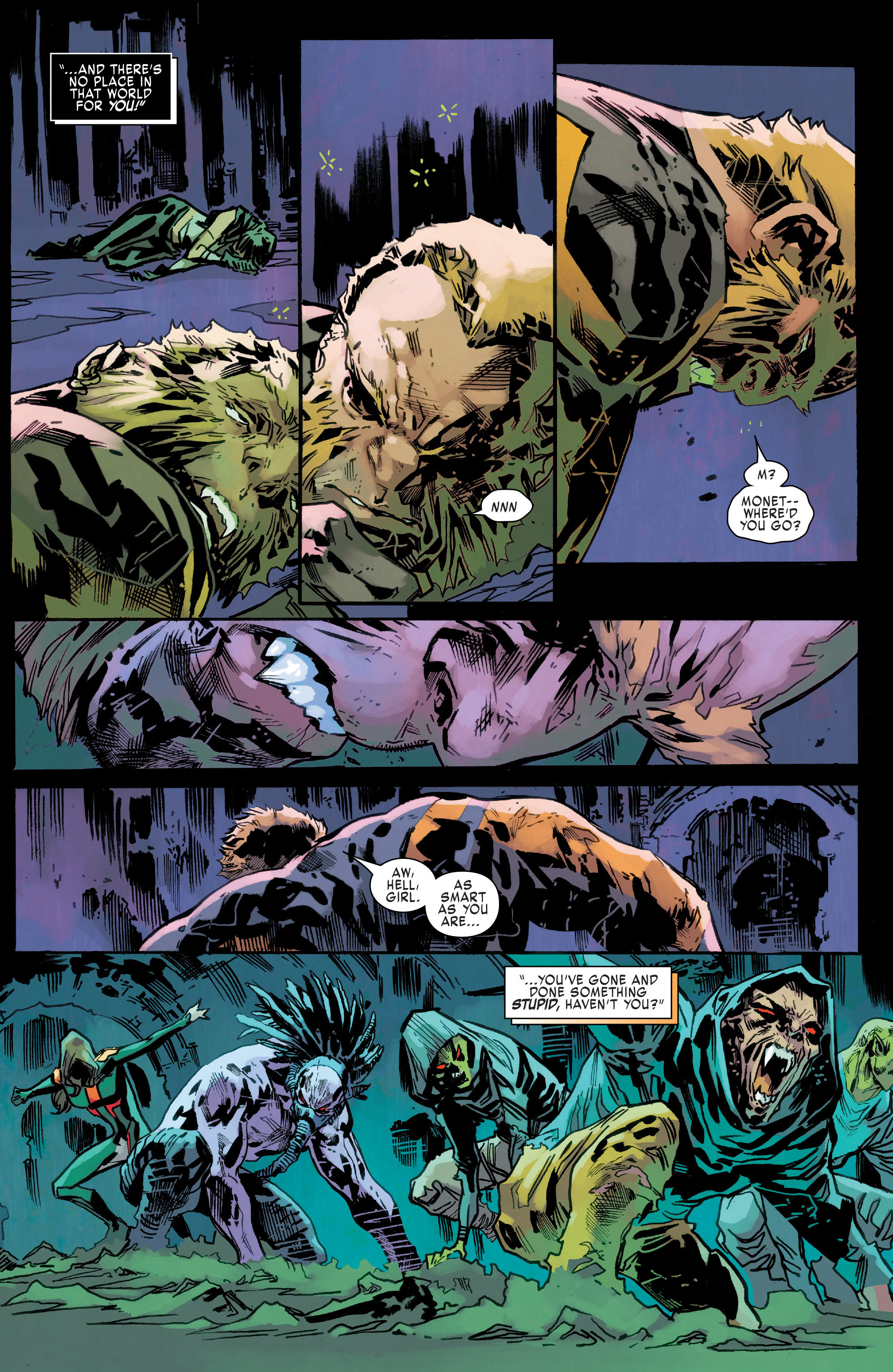 Read online Uncanny X-Men (2016) comic -  Issue #9 - 13