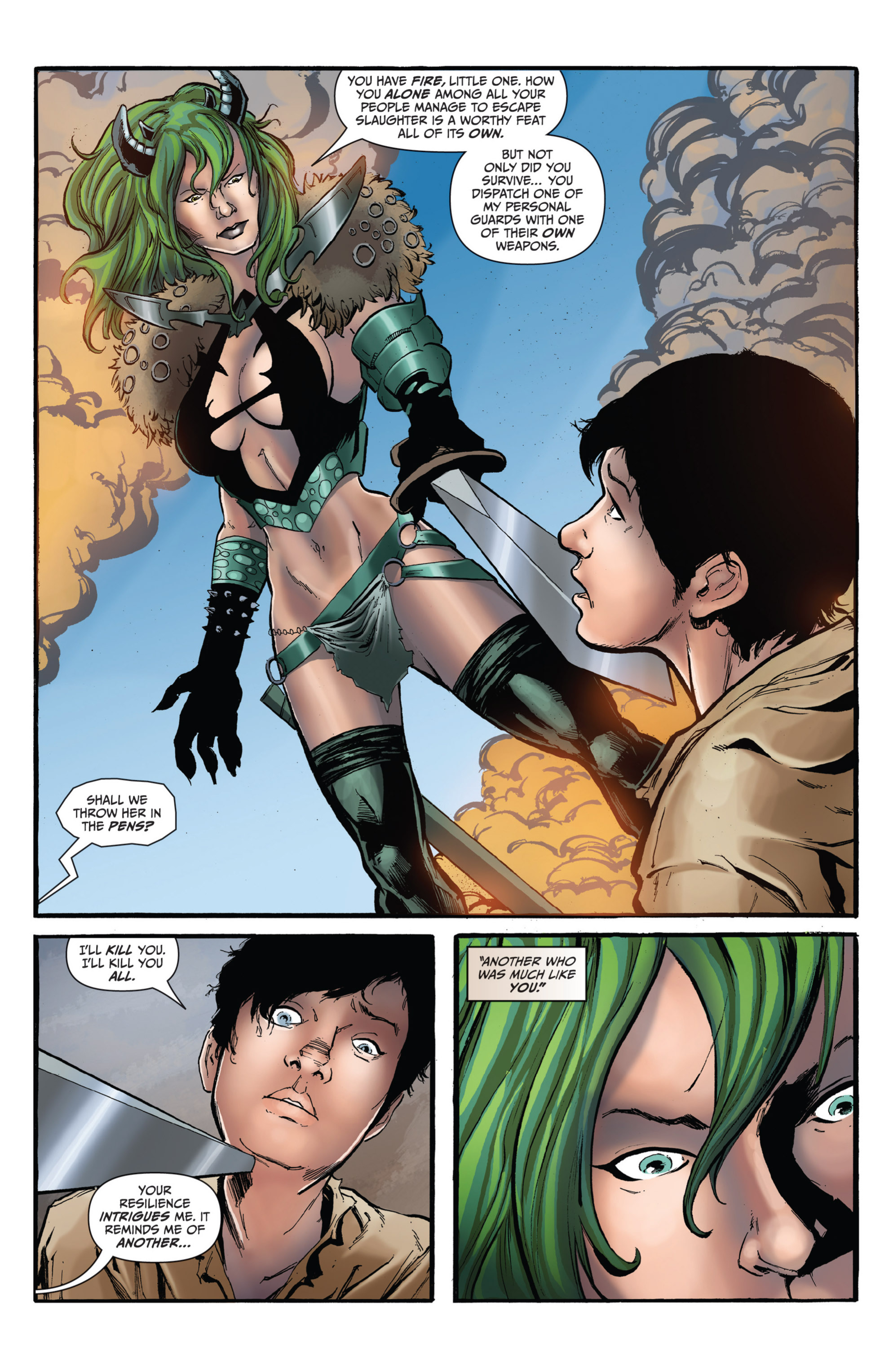 Read online Grimm Fairy Tales presents Grimm Universe comic -  Issue # TPB - 104