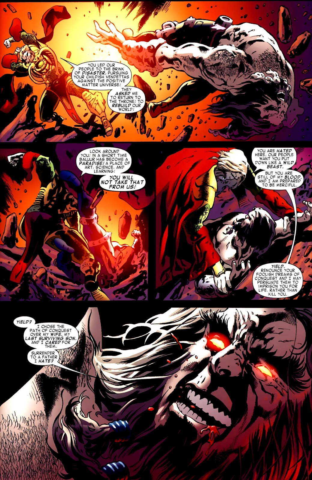 War of Kings: Warriors Issue #1 #1 - English 31