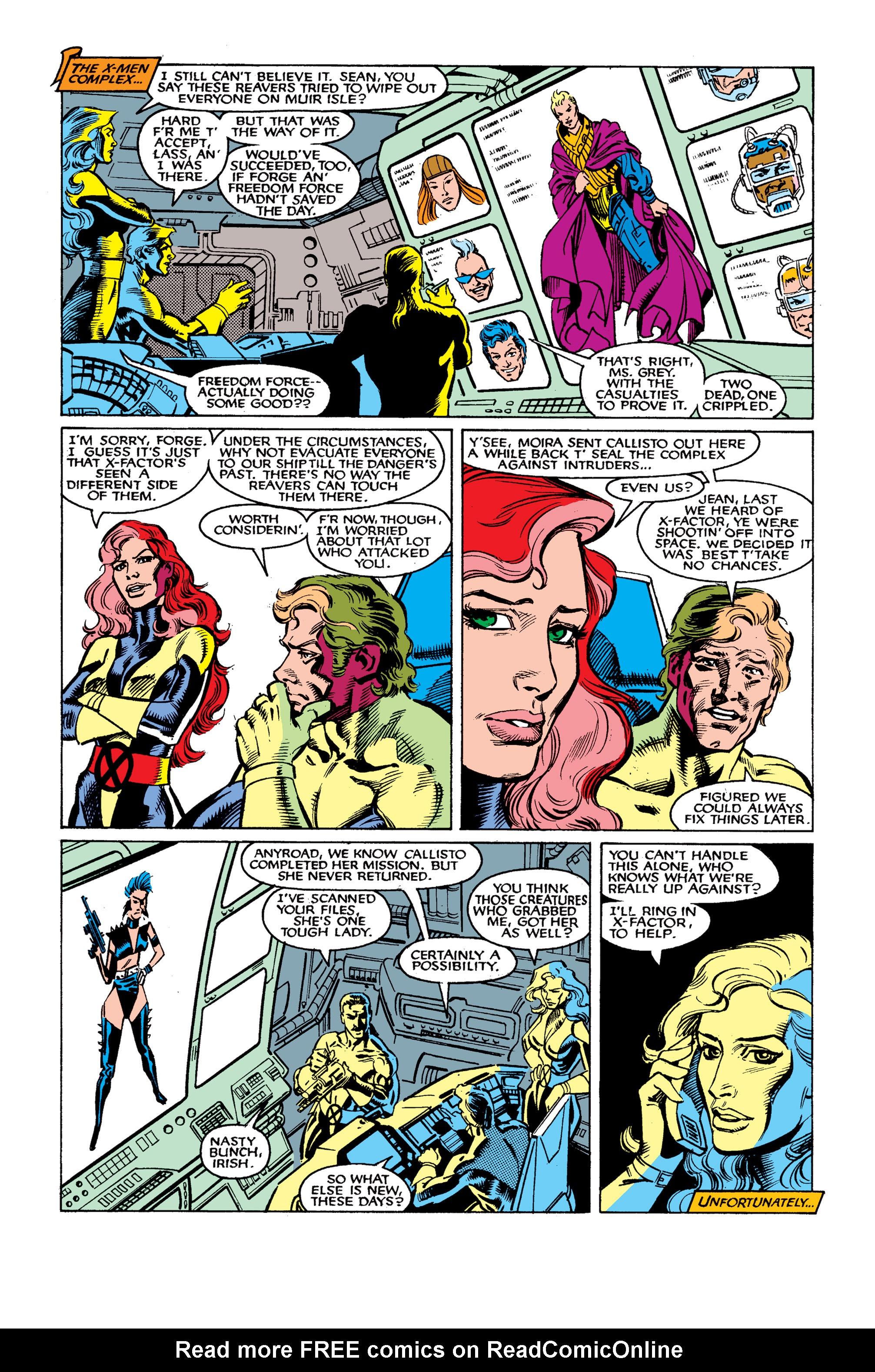 Read online Uncanny X-Men (1963) comic -  Issue #262 - 8