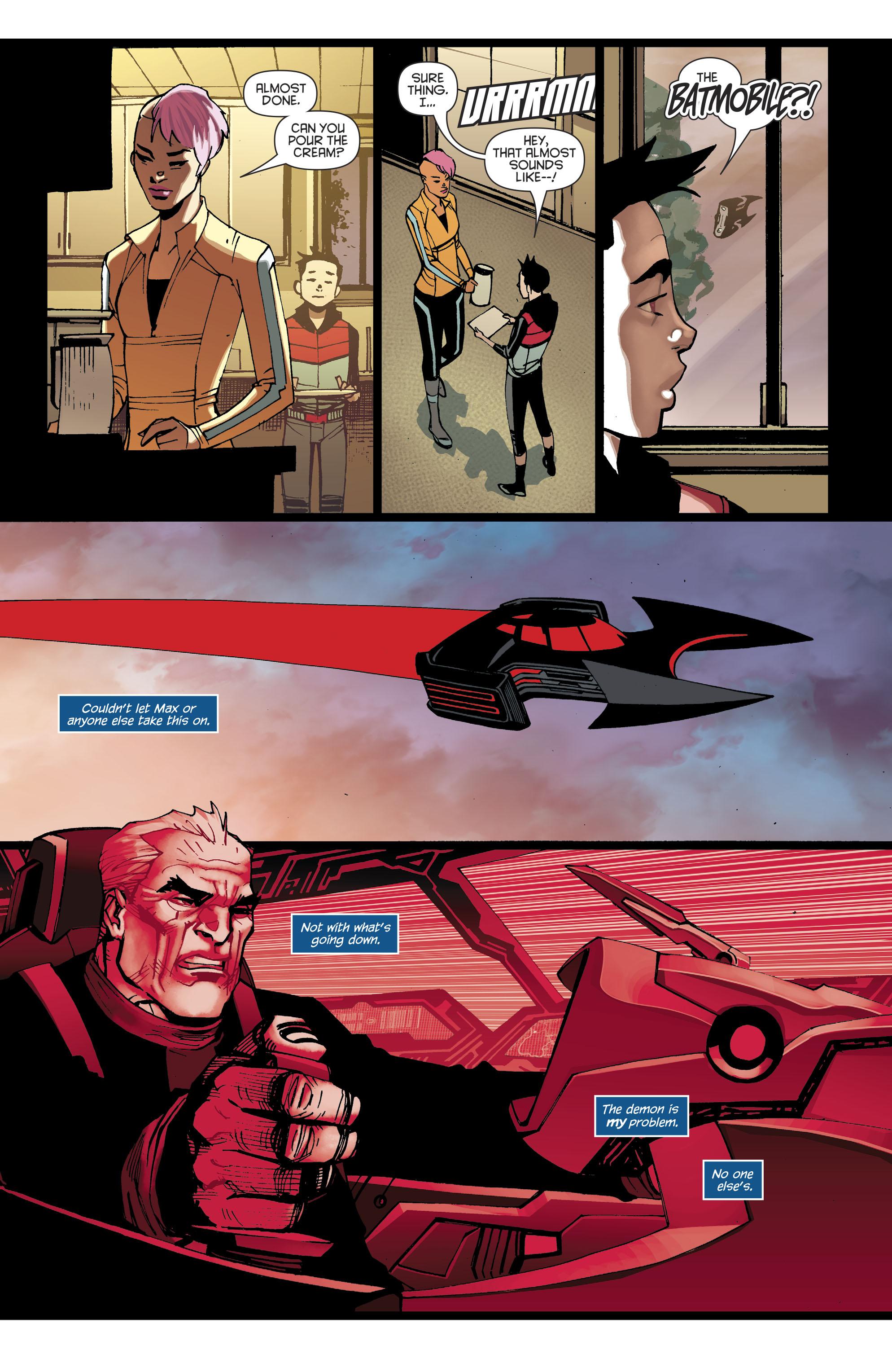Read online Batman Beyond (2016) comic -  Issue #8 - 18