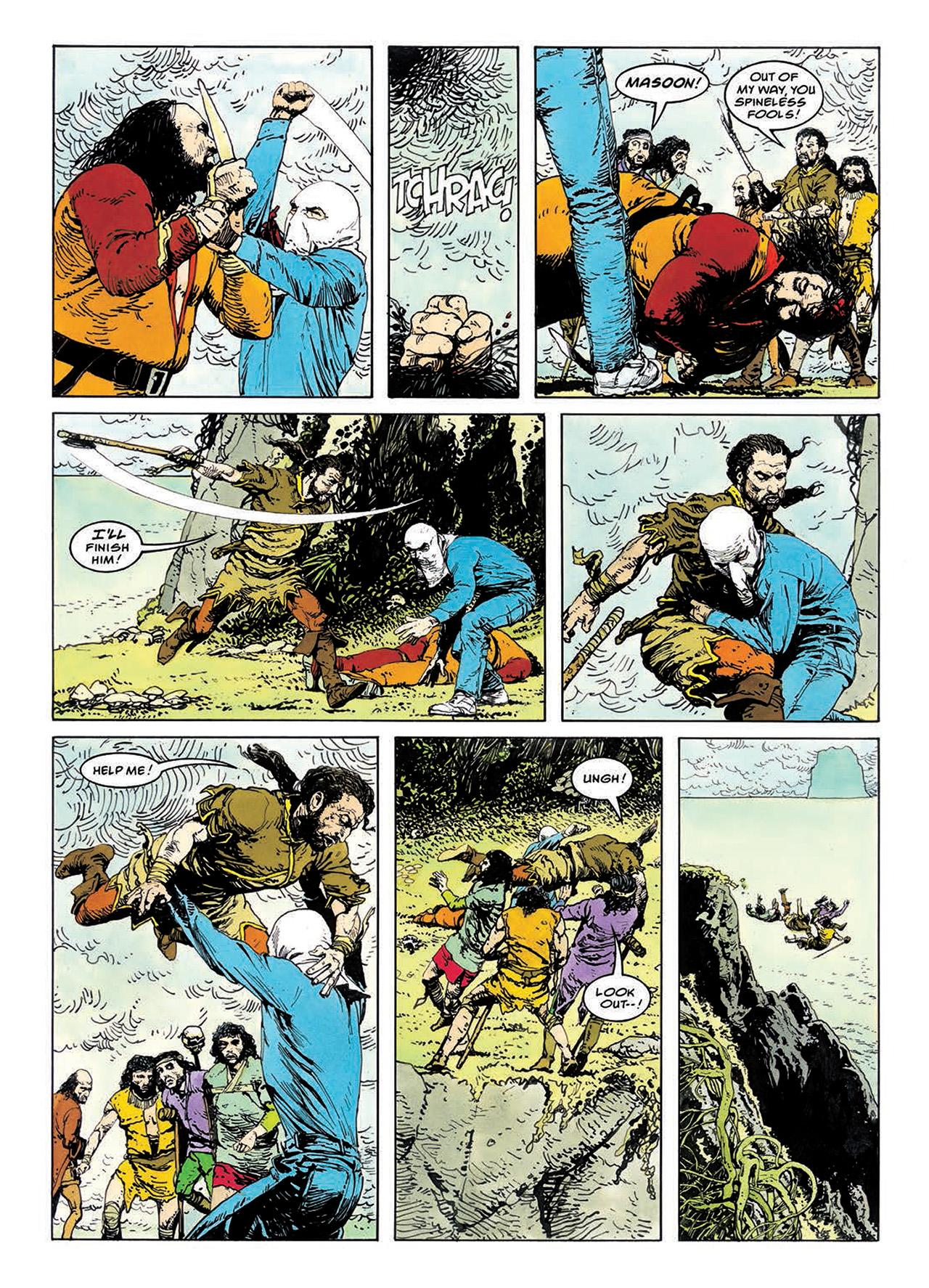 Read online Mazeworld comic -  Issue # TPB - 106