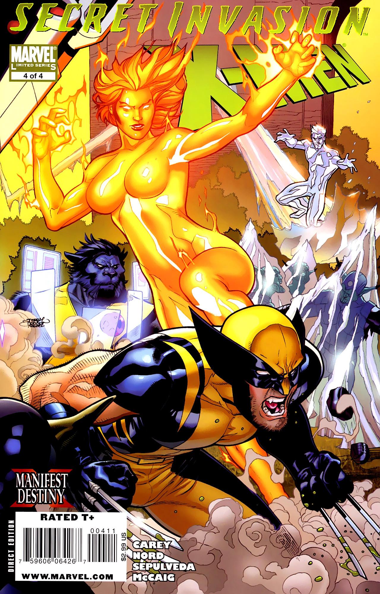 Read online Secret Invasion: X-Men comic -  Issue #4 - 1